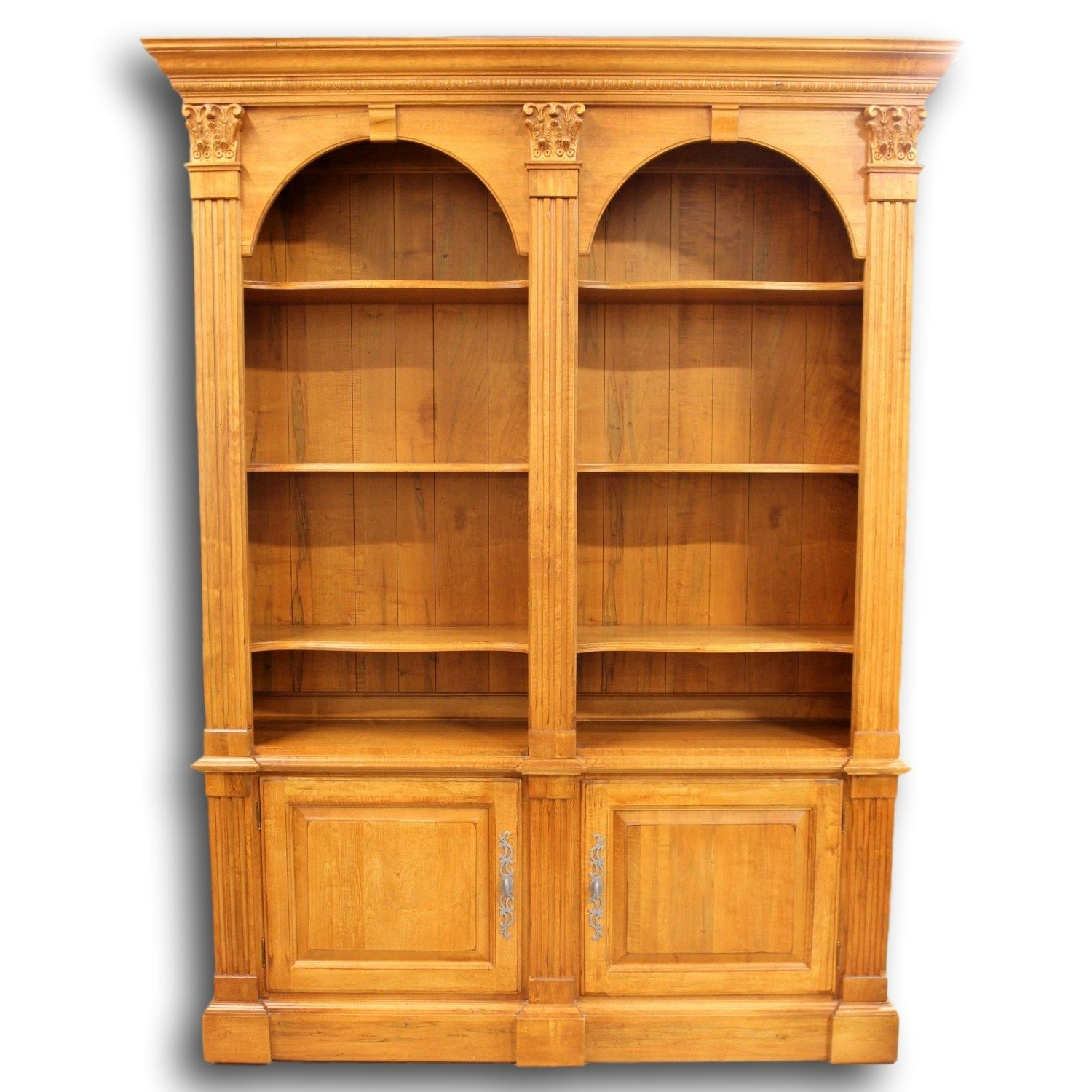 Ethan Allen Double Bookcase (View 4 of 15)
