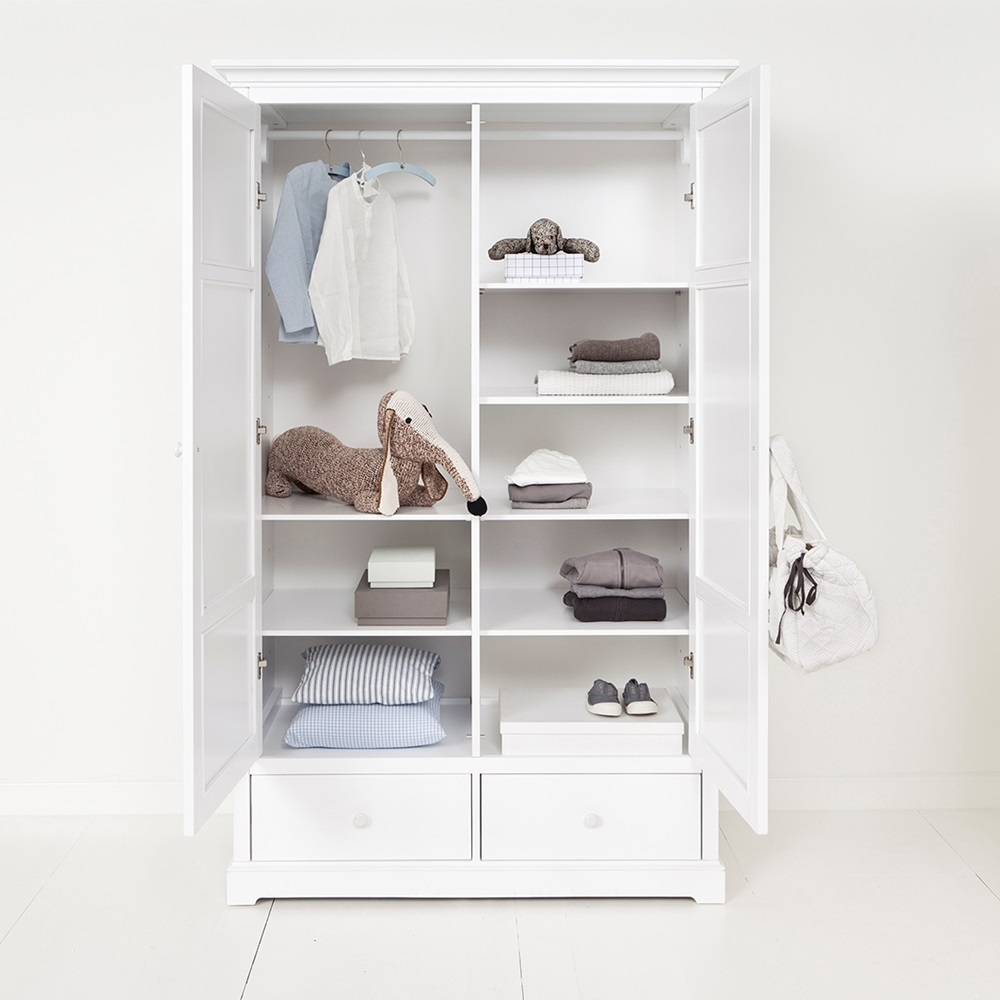 Exquisite Ideas White Wardrobe With Shelves Childrens Luxury 2 Throughout Trendy Wardrobes With Shelves And Drawers (View 2 of 15)