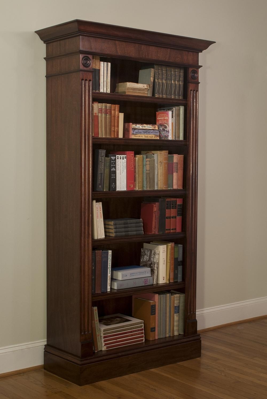 Famous Atlanta, Ga Custom Bookcase & Library Design — Atlanta Custom Within Mahogany Bookcases (View 4 of 15)