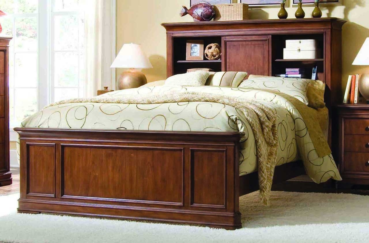 Famous Bookcases Headboard In King Bookcase Headboard King Size Best : Doherty House – King (View 11 of 15)
