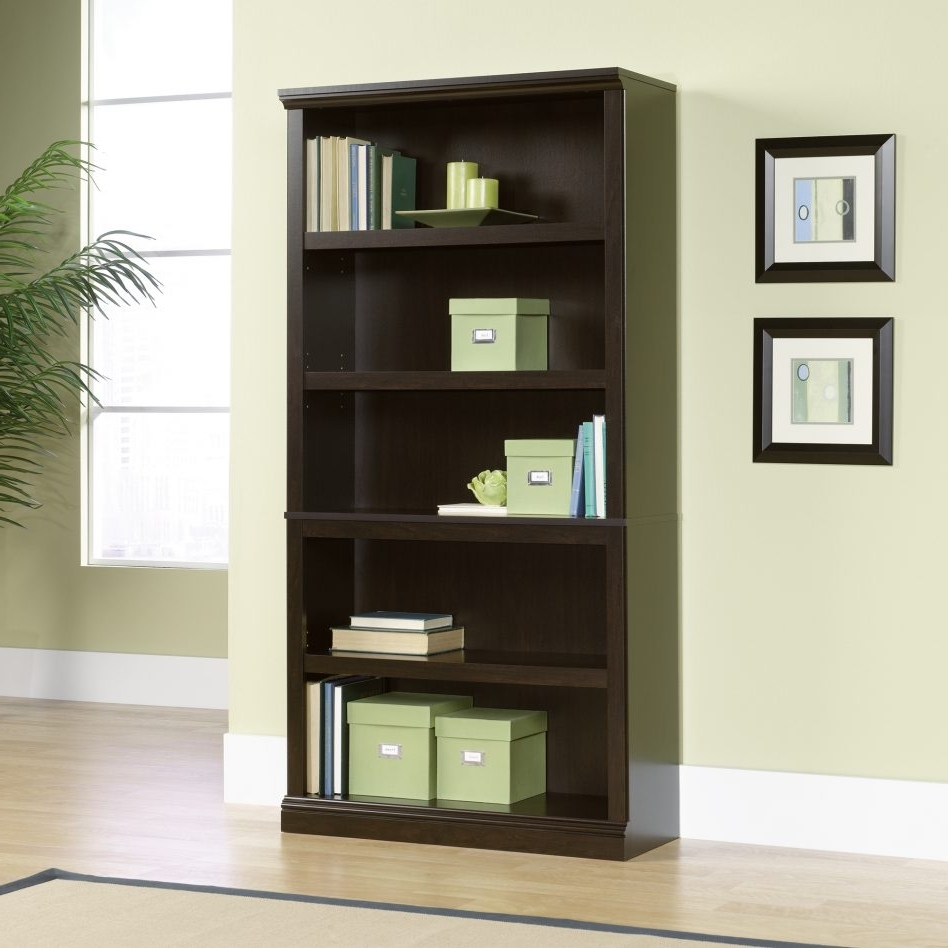 Famous Bookcases : Sears Black Bookcase Canada White  Image With Doors Pertaining To Sears Bookcases (View 1 of 15)