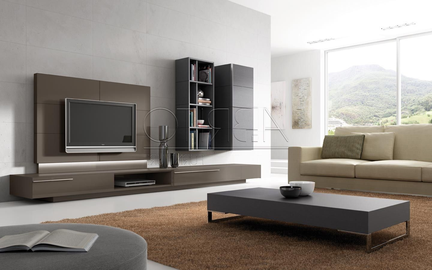 Famous Browse Our Selection Of 15 Modern Tv Wall Units For Wonderful Intended For Modern Wall Units (View 3 of 15)