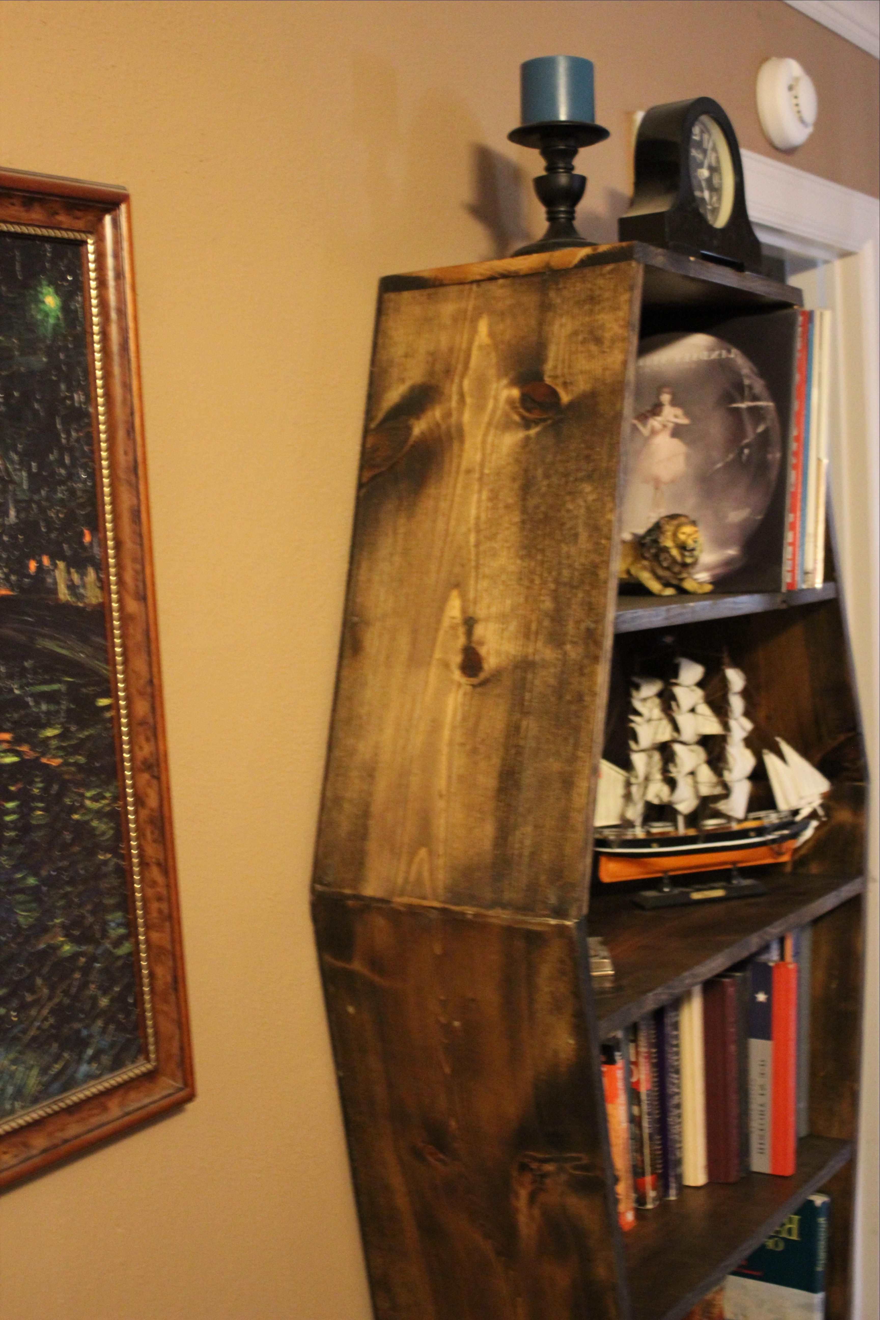 Famous Coffin Bookcases For Buy A Hand Made Coffin Bookcase, Made To Order From Wartooth (View 9 of 15)