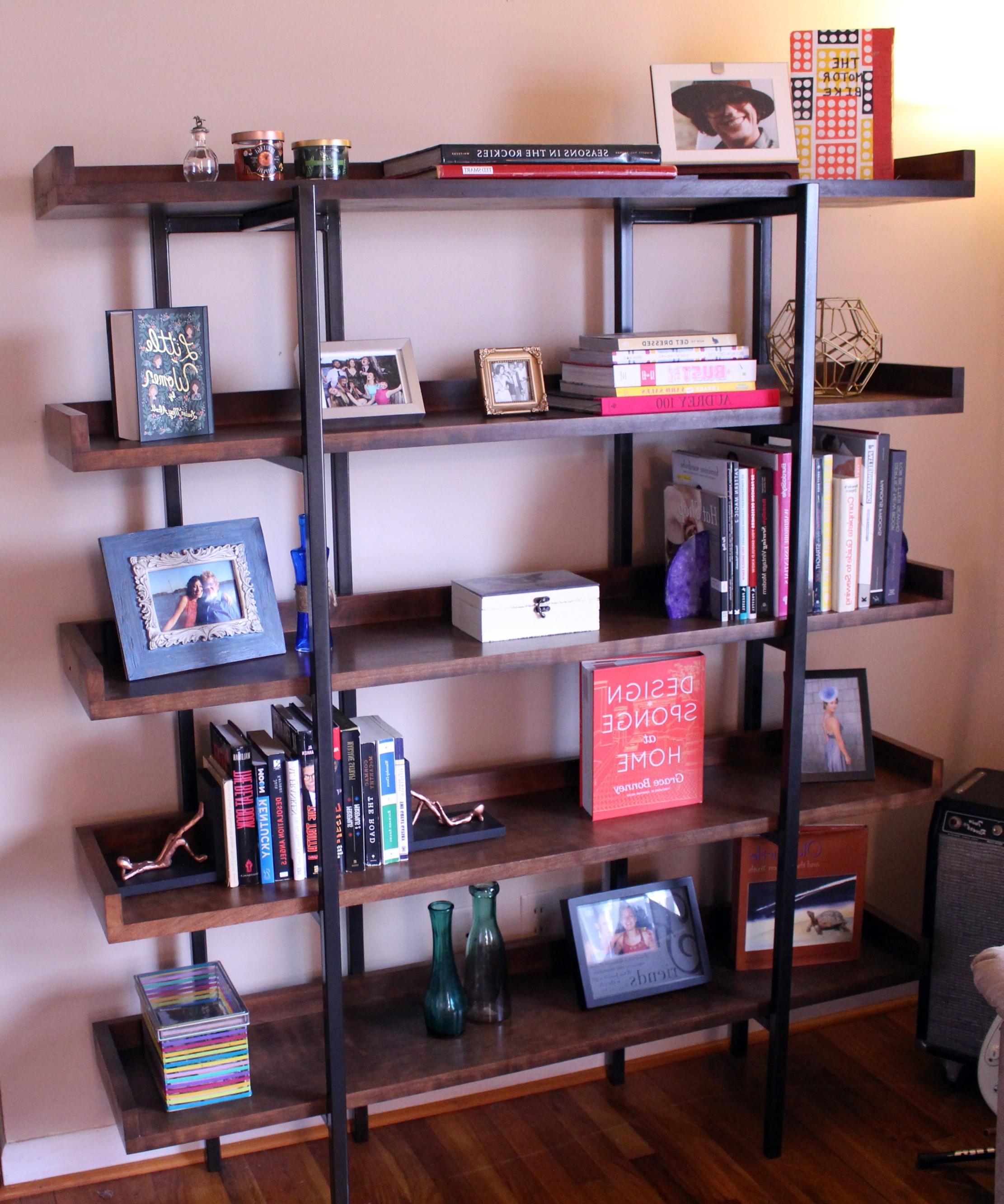 Famous Diy Designer Bookshelf Regarding Crate And Barrel Bookcases (View 12 of 15)