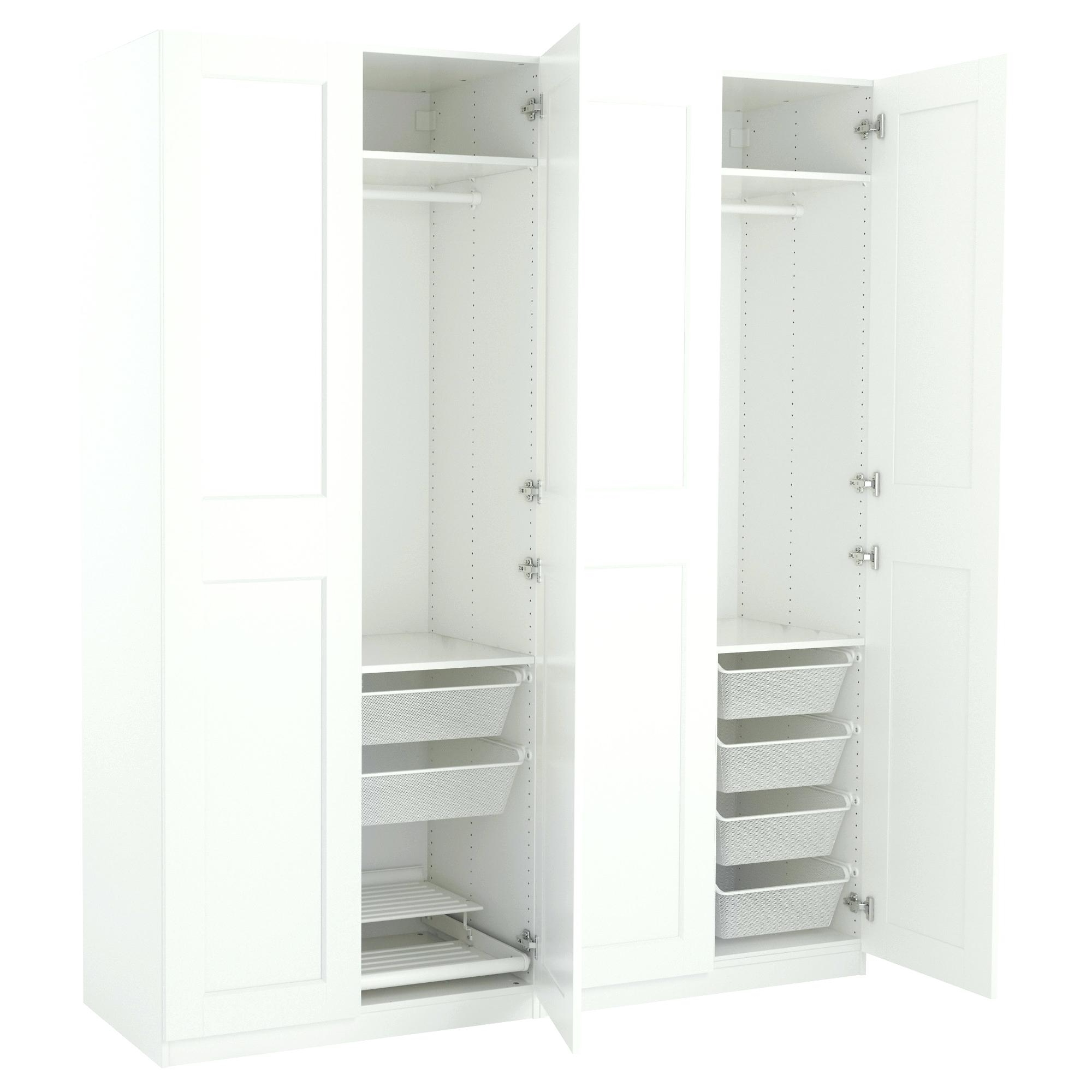 Famous Fitted Wardrobe Depth With Closet ~ 4 Door Wardrobe Closet Fitted Wardrobe With Shaker Mirror (View 4 of 15)