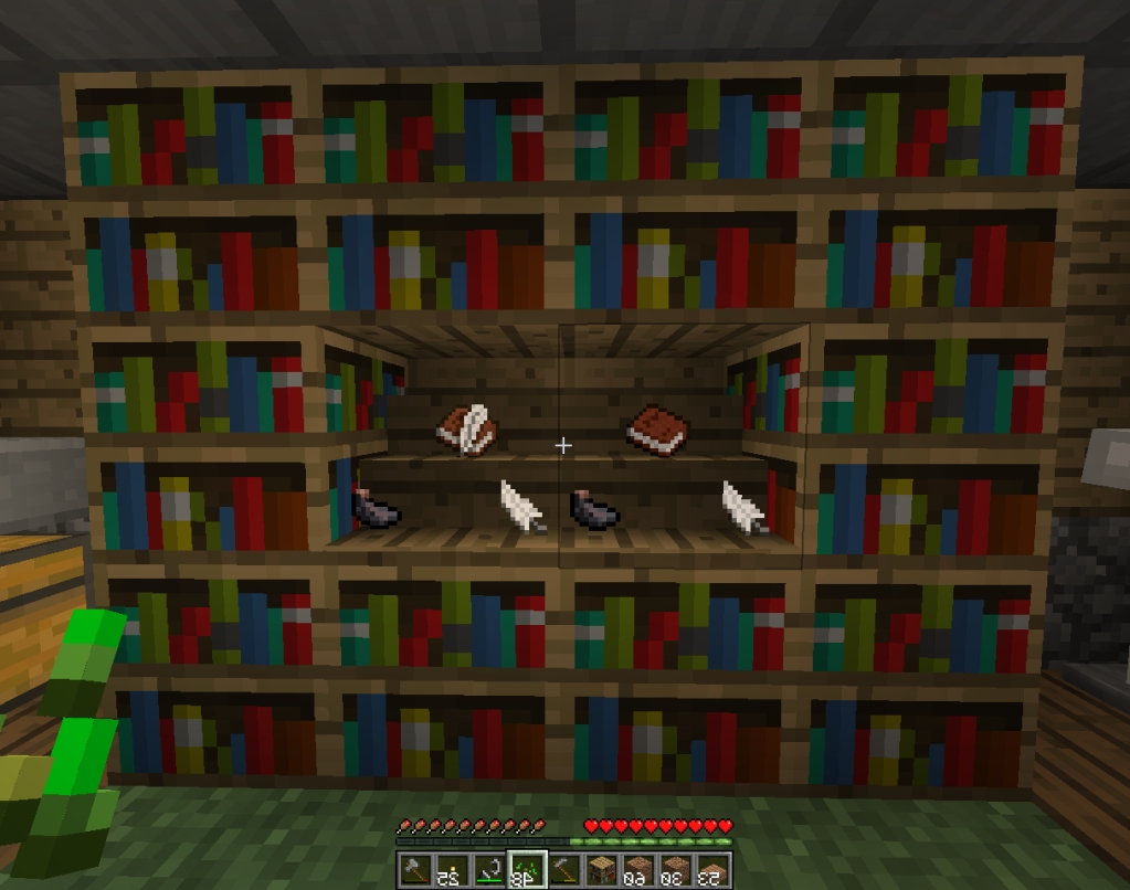 Famous Minecraft Bookcases For Bookshelf (View 6 of 15)