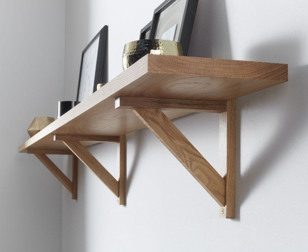 Featured Photo of Oak Wall Shelves