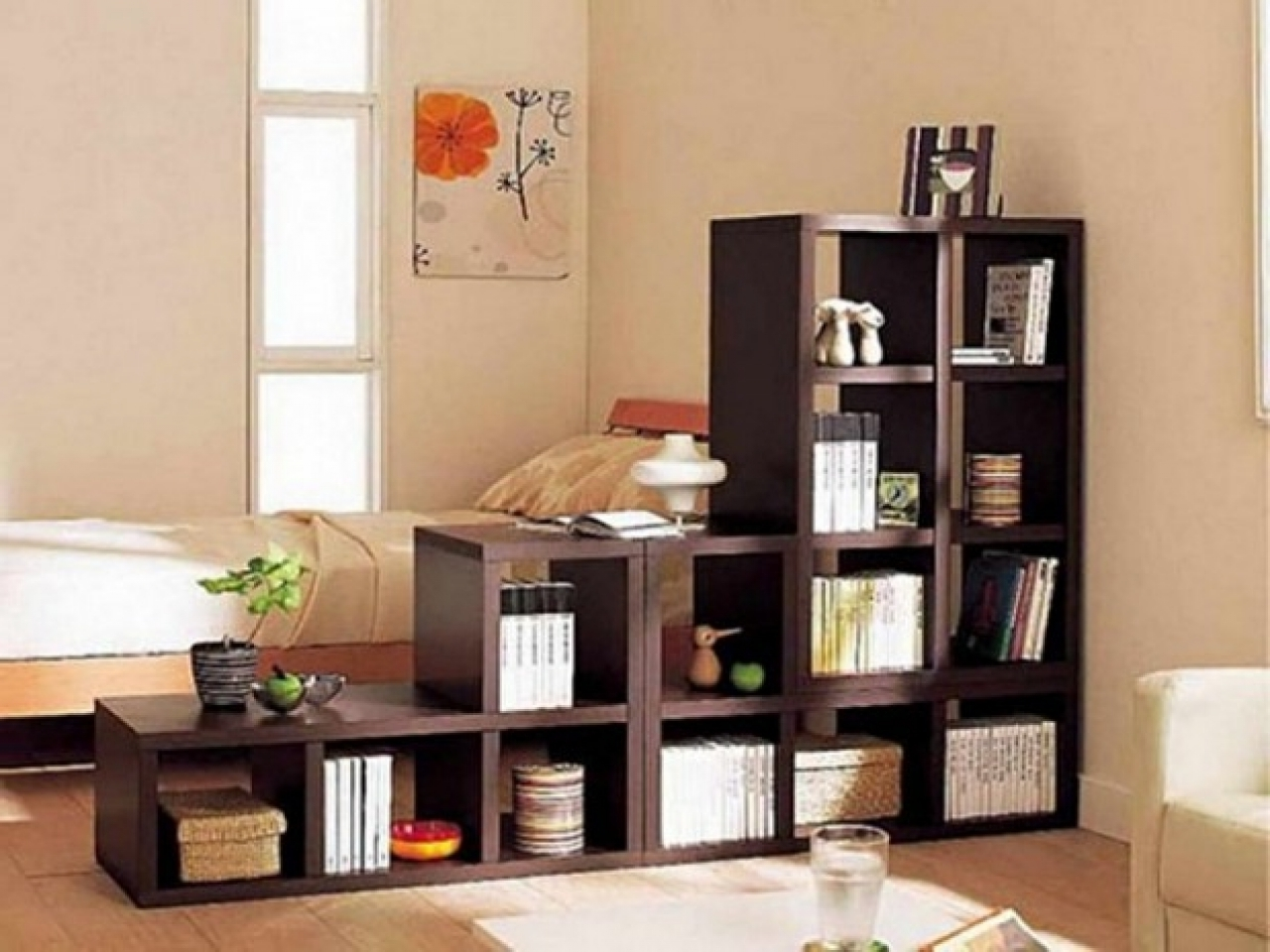 Famous Room Divider Bookcases With Regard To Room Divider With Shelves Ideas Bookshelves Baaf – Surripui (View 11 of 15)