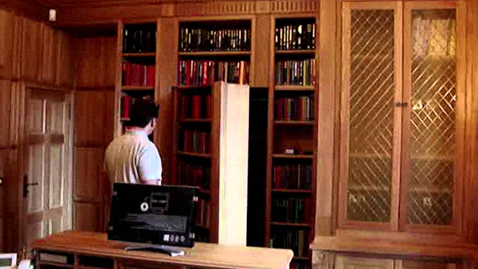 Famous Secret Door, Bookcase Door, Hidden Door – Youtube Inside Secret Door Bookcases (View 5 of 15)