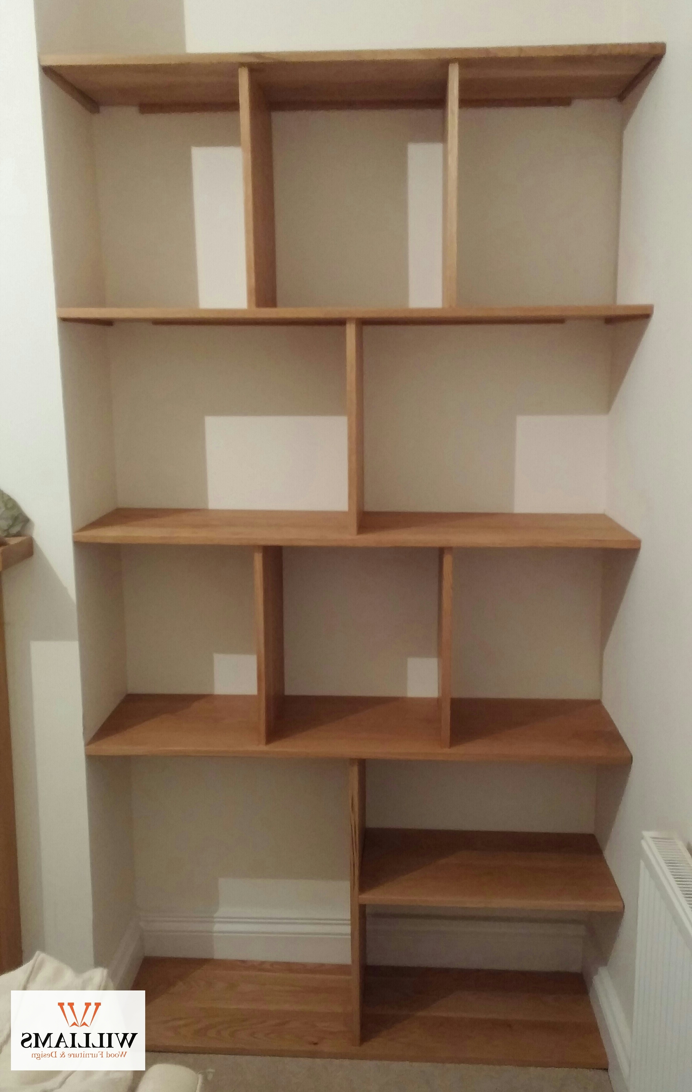 Famous Shelves : Sensational Wp Pro Oak Floating Shelves Veneered Stephen Within Fitted Shelving Systems (View 5 of 15)