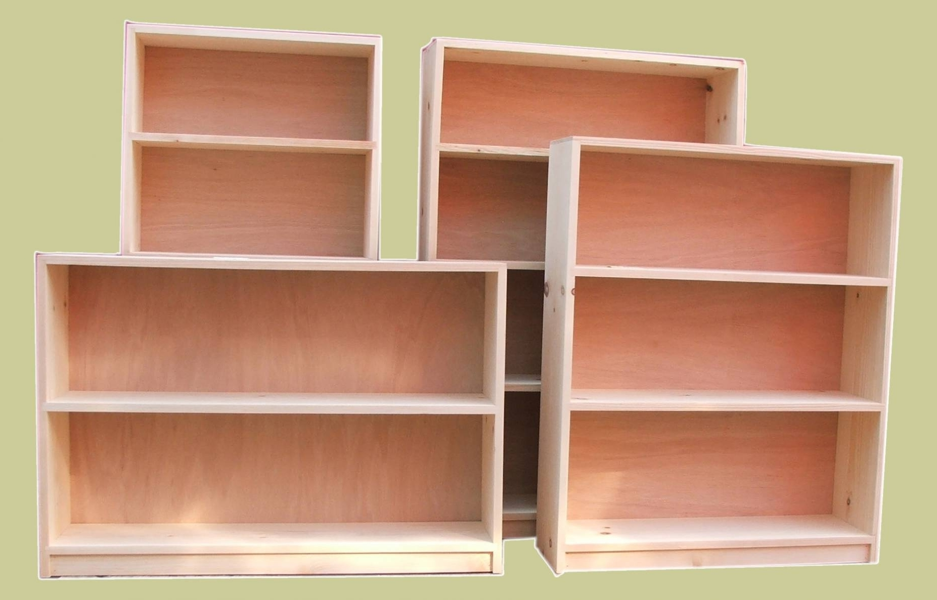 Famous Unfinished Wood Bookcases Regarding Unfinished Bookcases (View 12 of 15)