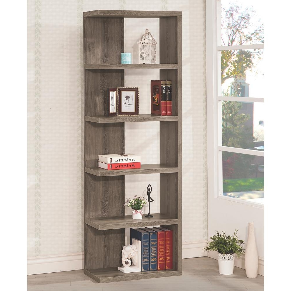 Featured Photo of Grey Bookcases