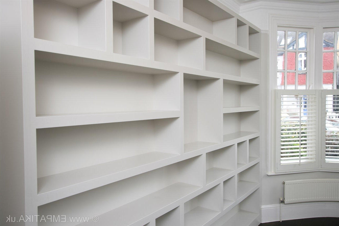 Fashionable Bespoke Shelving Units Regarding About Builtins Shelf Ideas Shelves 2017 With Contemporary Shelving (View 9 of 15)
