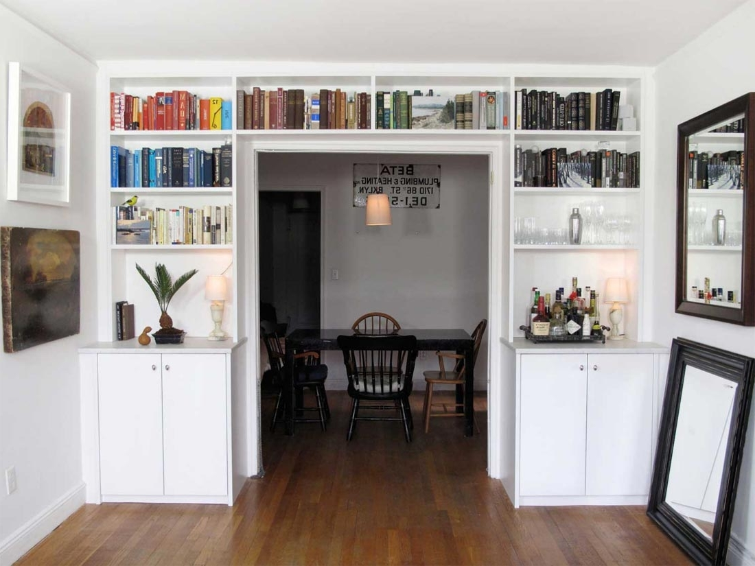 Fashionable Built In Bookcases Kits Intended For Built In Bookshelves Kit Wall Units Amazing White Bookcases 18 Ana (View 8 of 15)