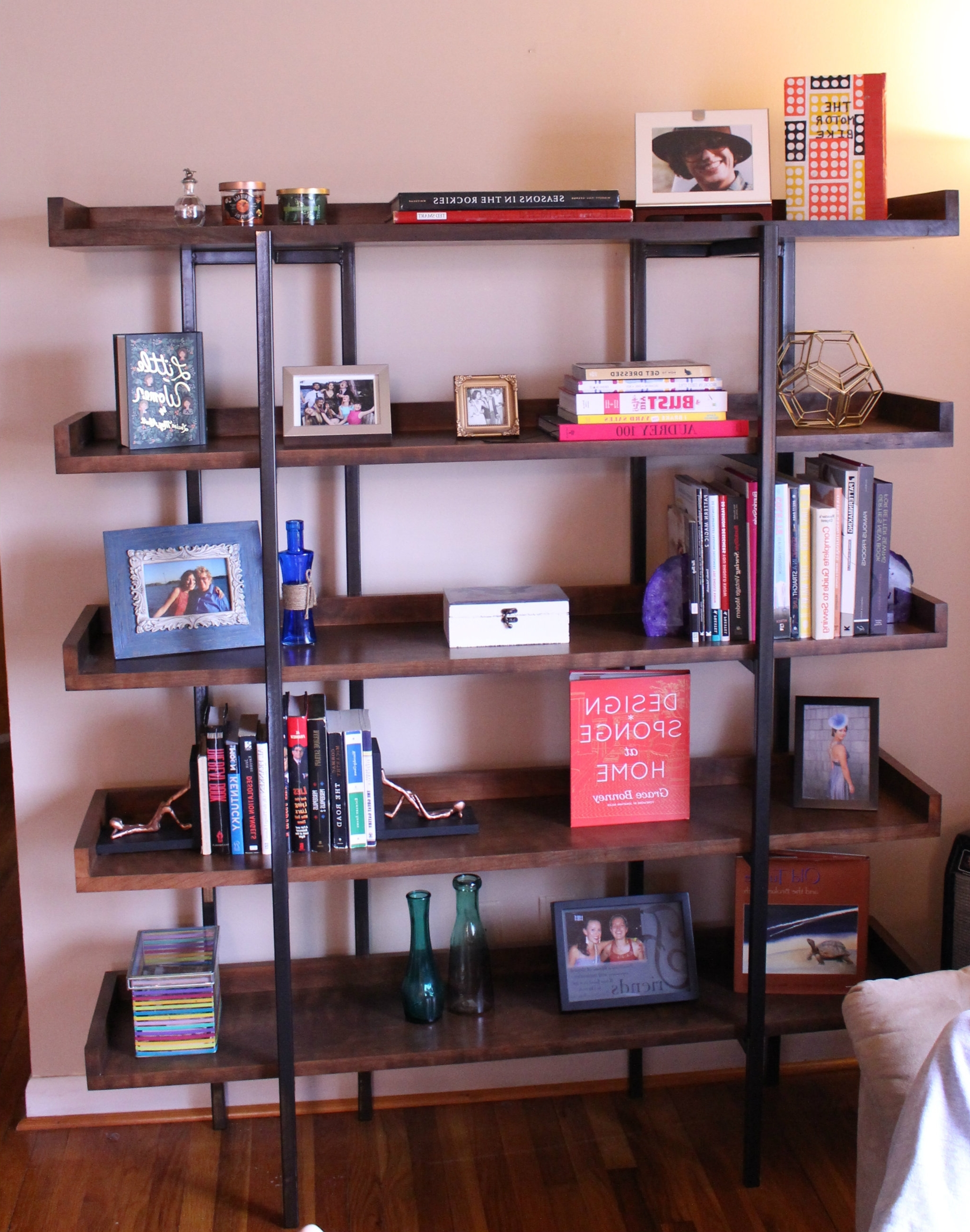 Fashionable Diy Designer Bookshelf For Crate And Barrel Bookcases (View 11 of 15)