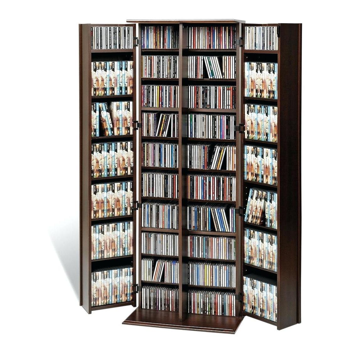 Fashionable Dvd Bookcases Regarding Dvd Bookcase Dvd Holder Plans Dvd Organizer Storage (View 14 of 15)
