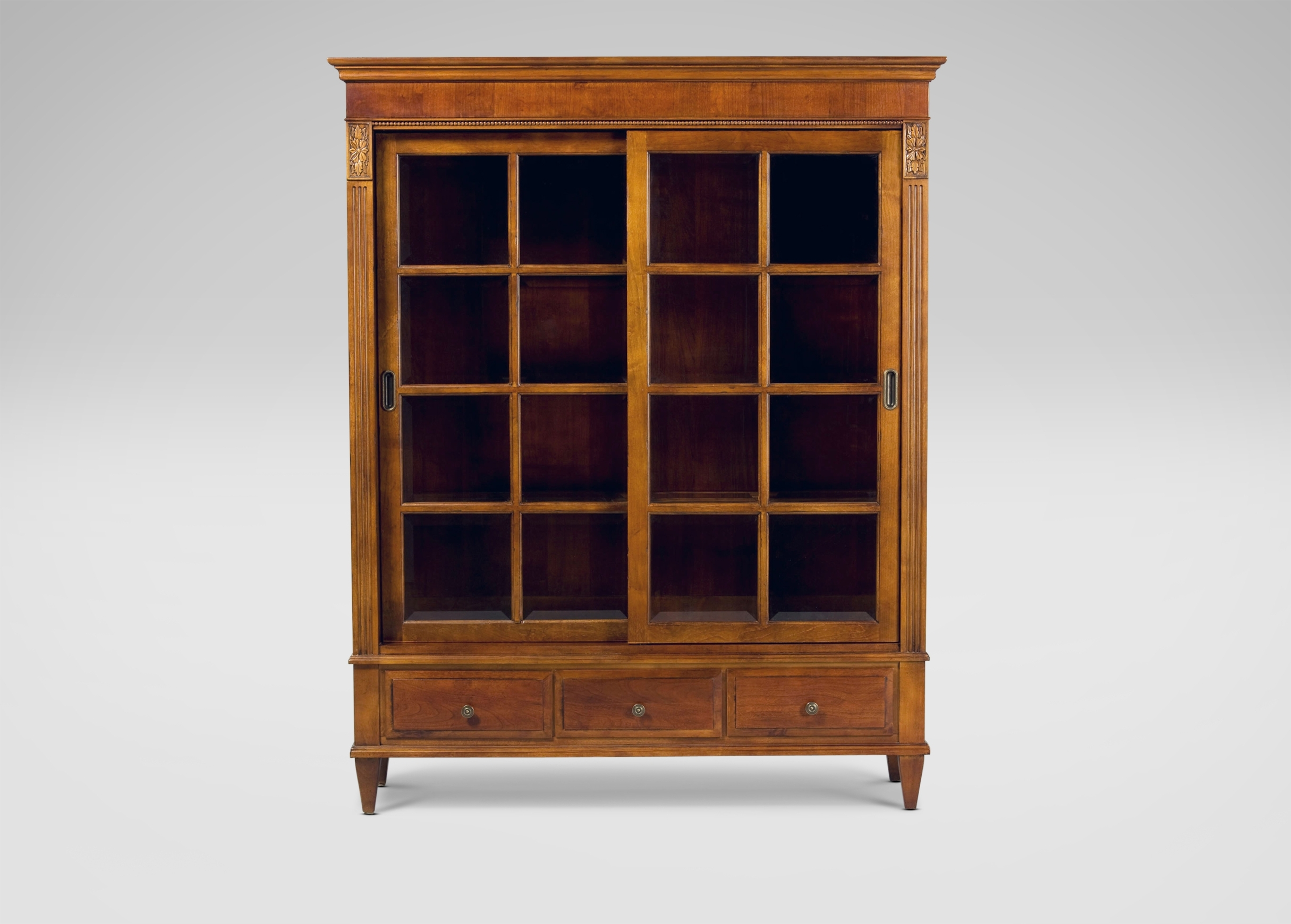 Fashionable Ethan Allen Bookcases Inside Ashton Curio Cabinet (View 6 of 15)