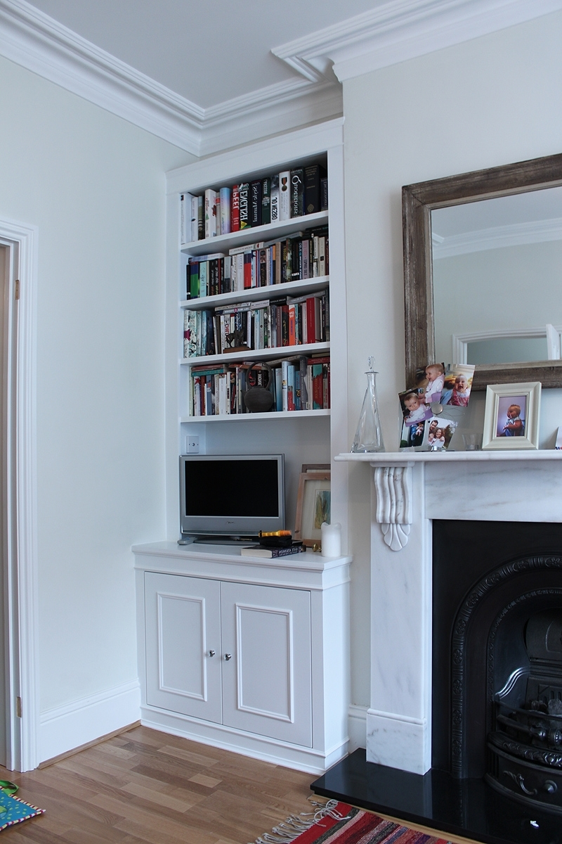 Fashionable Fitted Living Room Cabinets Within Built In Bookshelves On Either Side Of Fireplace – Google Search (View 10 of 15)