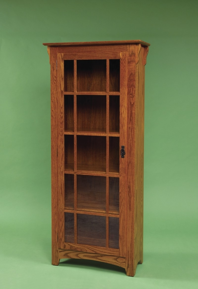 Fashionable Furniture: Hardwood Bookshelf With Mission Style Bookcase With Mission Style Bookcases (View 3 of 15)
