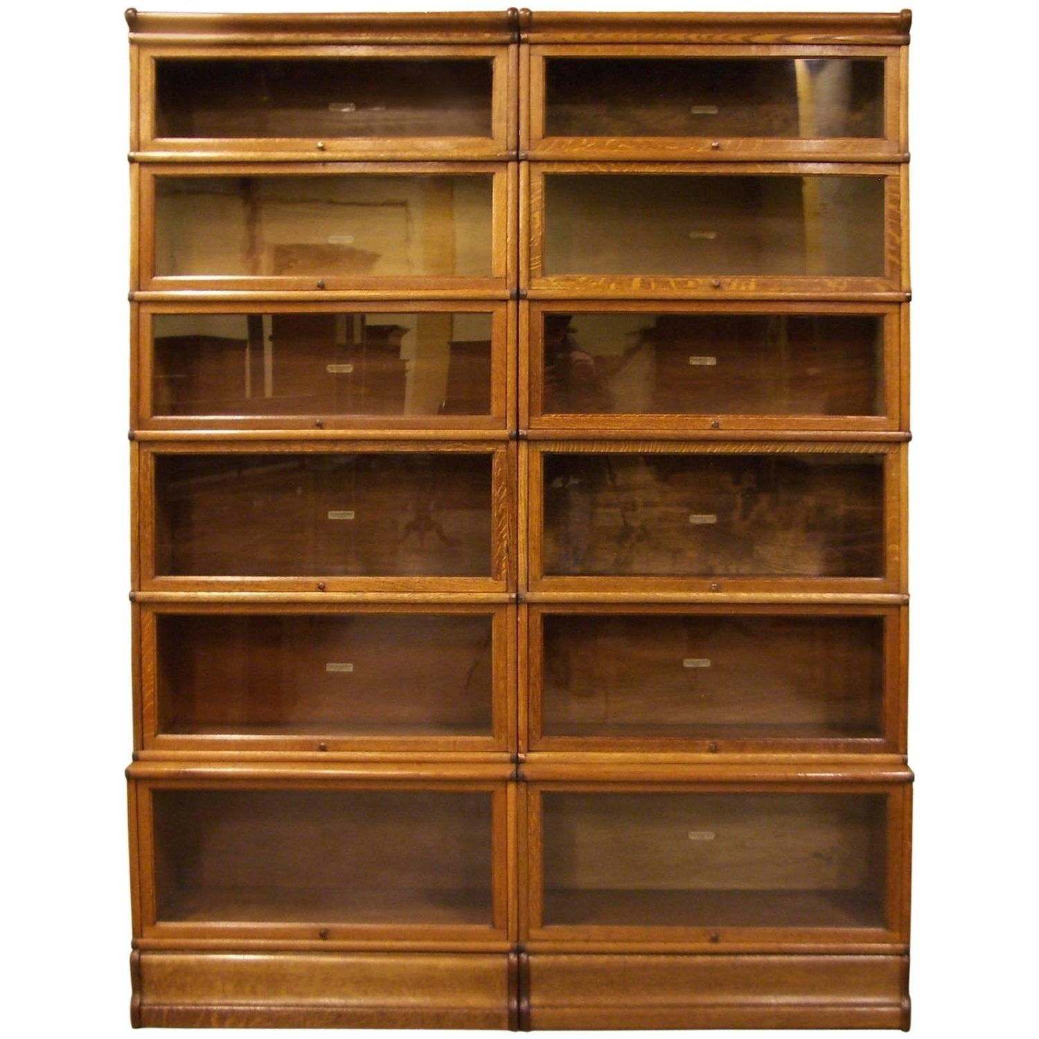 Fashionable Globe Wernicke Bookcase Oak For Sale At 1stdibs With Regard To Barrister Bookcases (View 15 of 15)