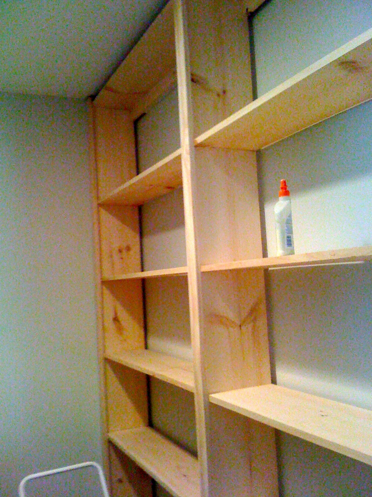 Fashionable Large Bookcases Plans With Deux Maison: Inspired To Build! Diy Built In Bookcase! (View 7 of 15)
