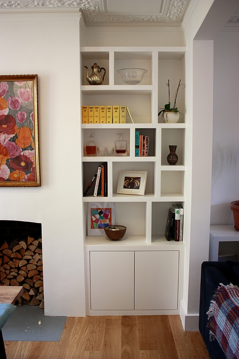 Fashionable Made Bookcases For Furniture Home: Furniture Home Bookcase Made To Measure Fitted (View 11 of 15)