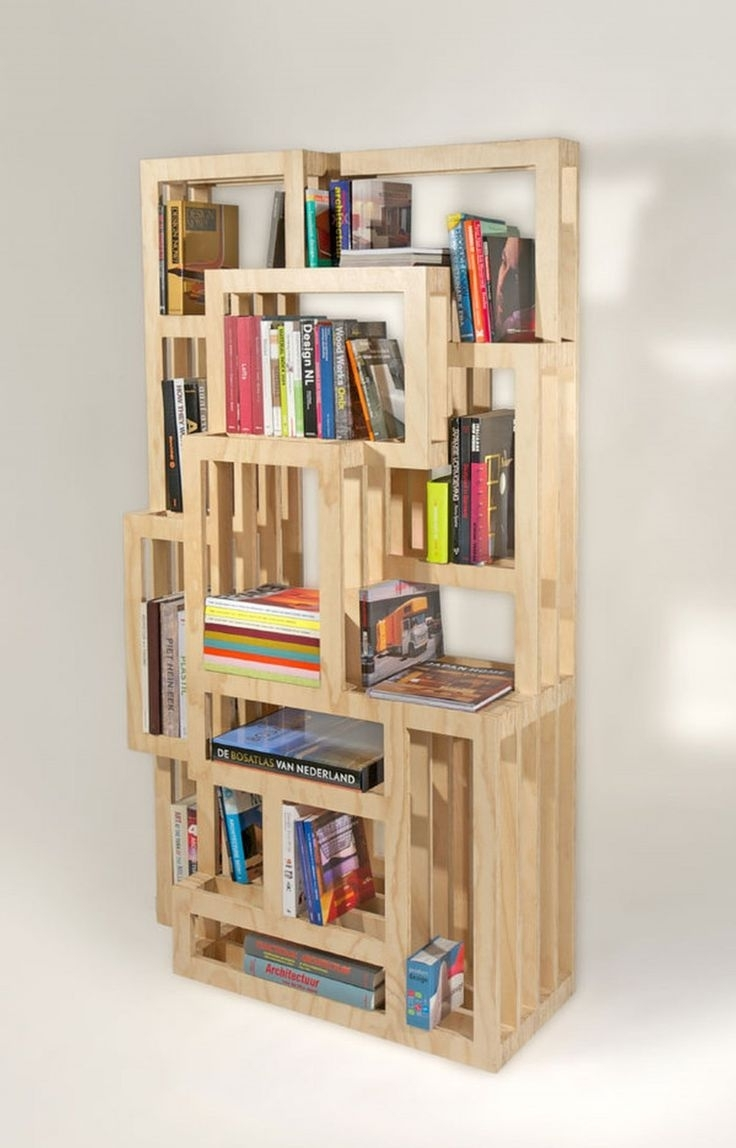 Fashionable Modern Handbuilt Bookcases With Regard To Best 25+ Homemade Bookshelves Ideas On Pinterest (View 2 of 15)