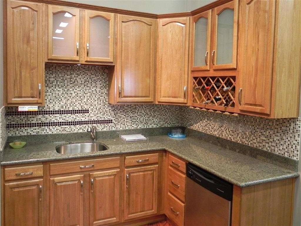 Fashionable Oak Cupboards In Natural Oak Kitchen Cabinets — Home Design Ideas : Painting Oak (View 3 of 15)