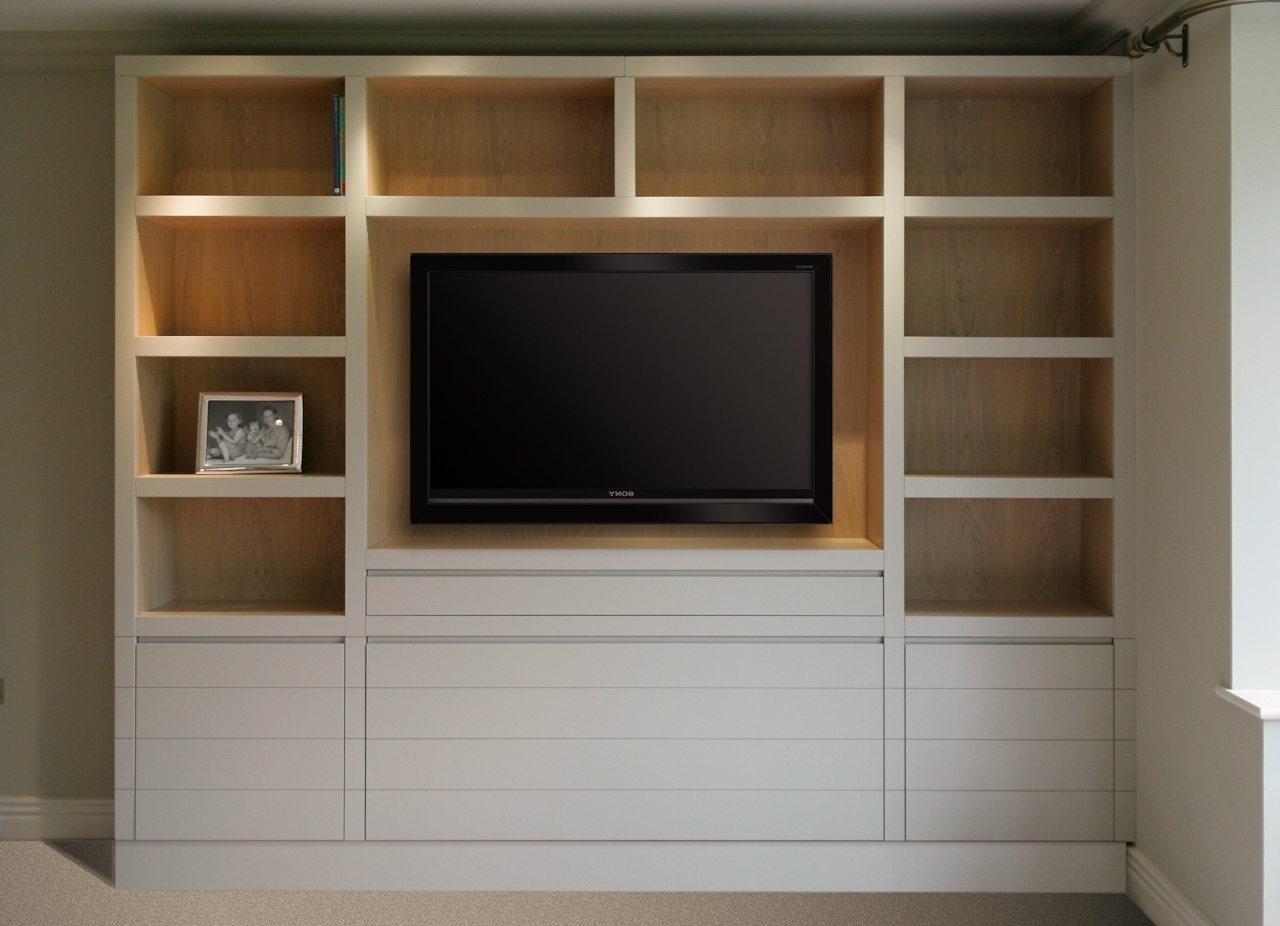Fashionable Painted Shelving Units Intended For Shelves (View 2 of 15)