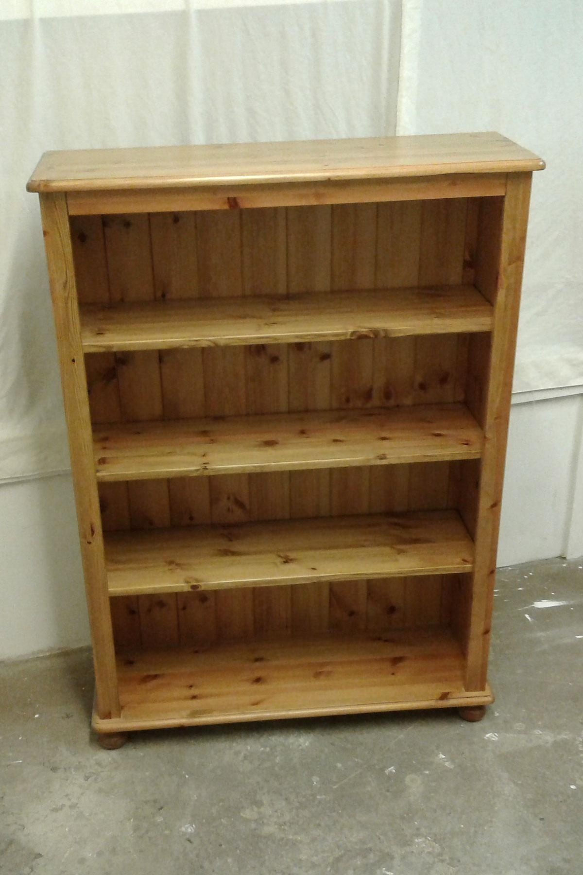 Fashionable Pine Bookcases For Pine Bookcase And Pine Book Shelves From The Home Pine Furniture (View 6 of 15)
