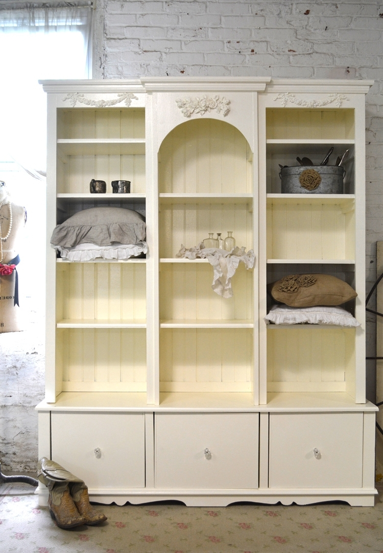 Featured Photo of Shabby Chic Bookcases