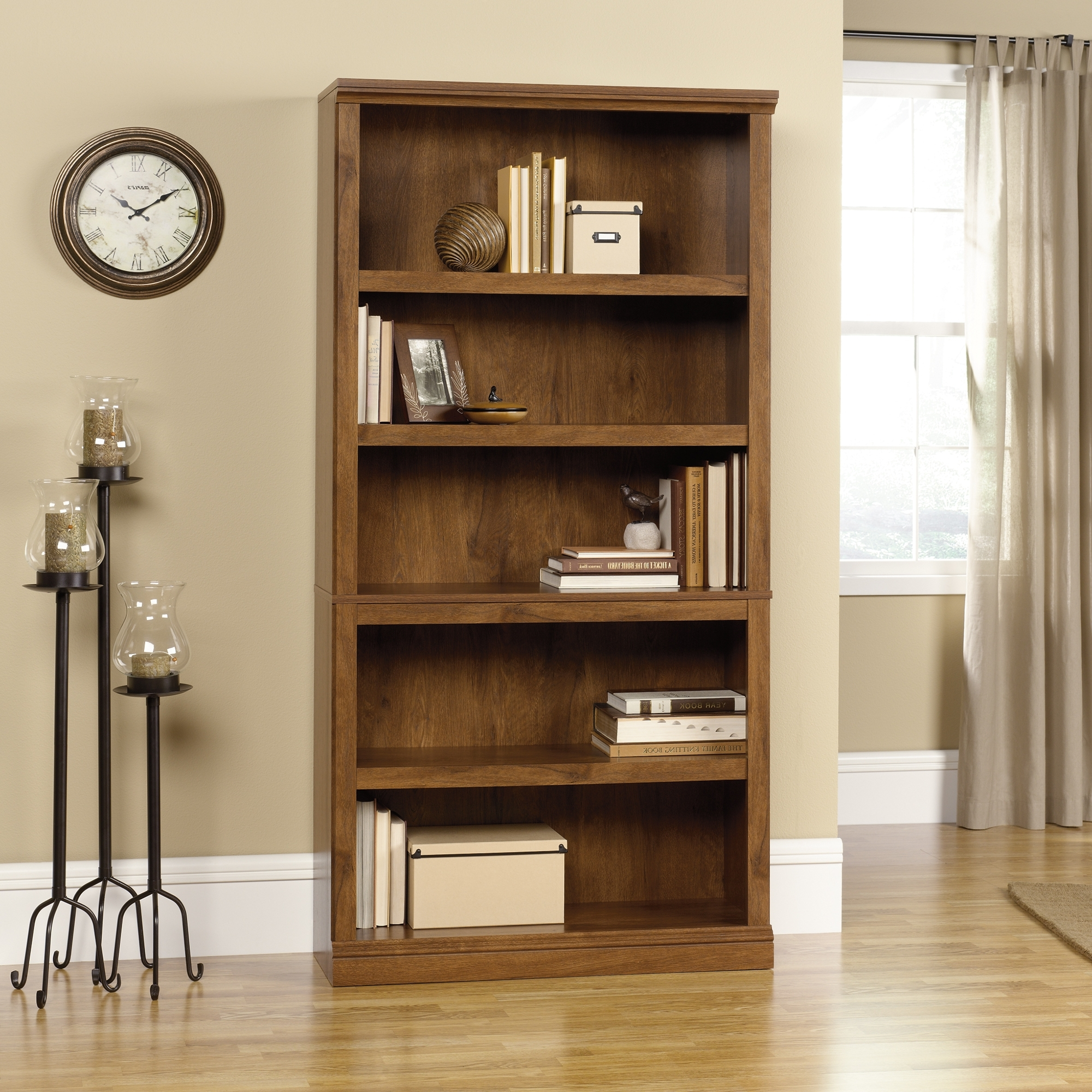 Favorite 36 Inch Wide Bookcases Regarding Bookcase: Organize Your Books With Best Sauder Bookcase Idea (View 9 of 15)