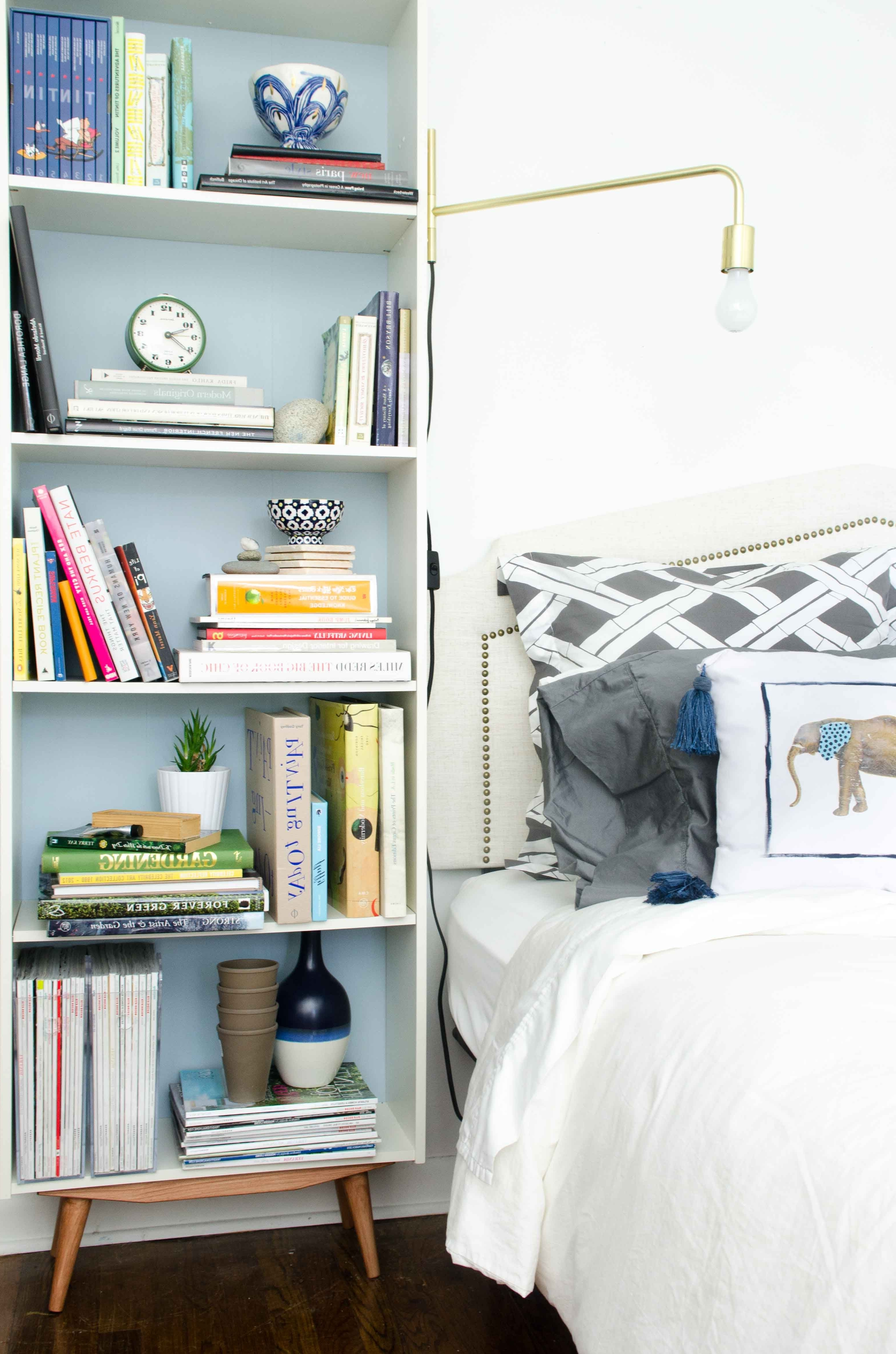 Favorite Bedroom Bookcases For Diy Mid Century Bookcase Ikea Hack (View 10 of 15)