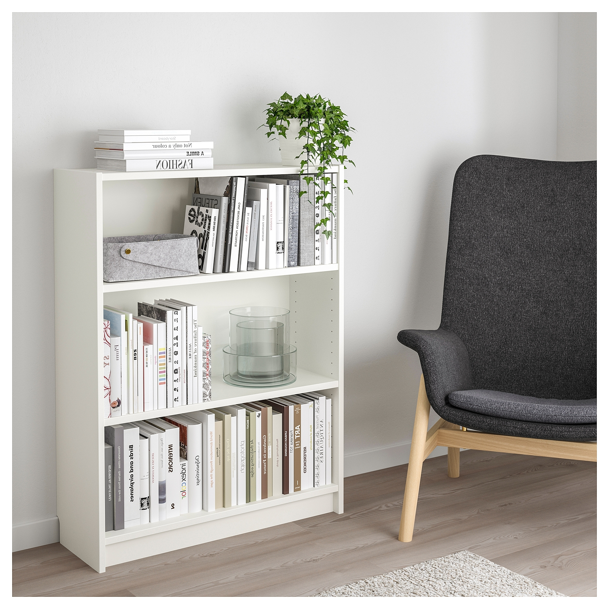 Favorite Billy Bookcase White 80X28X106 Cm – Ikea For White Billy Bookcases (View 5 of 15)