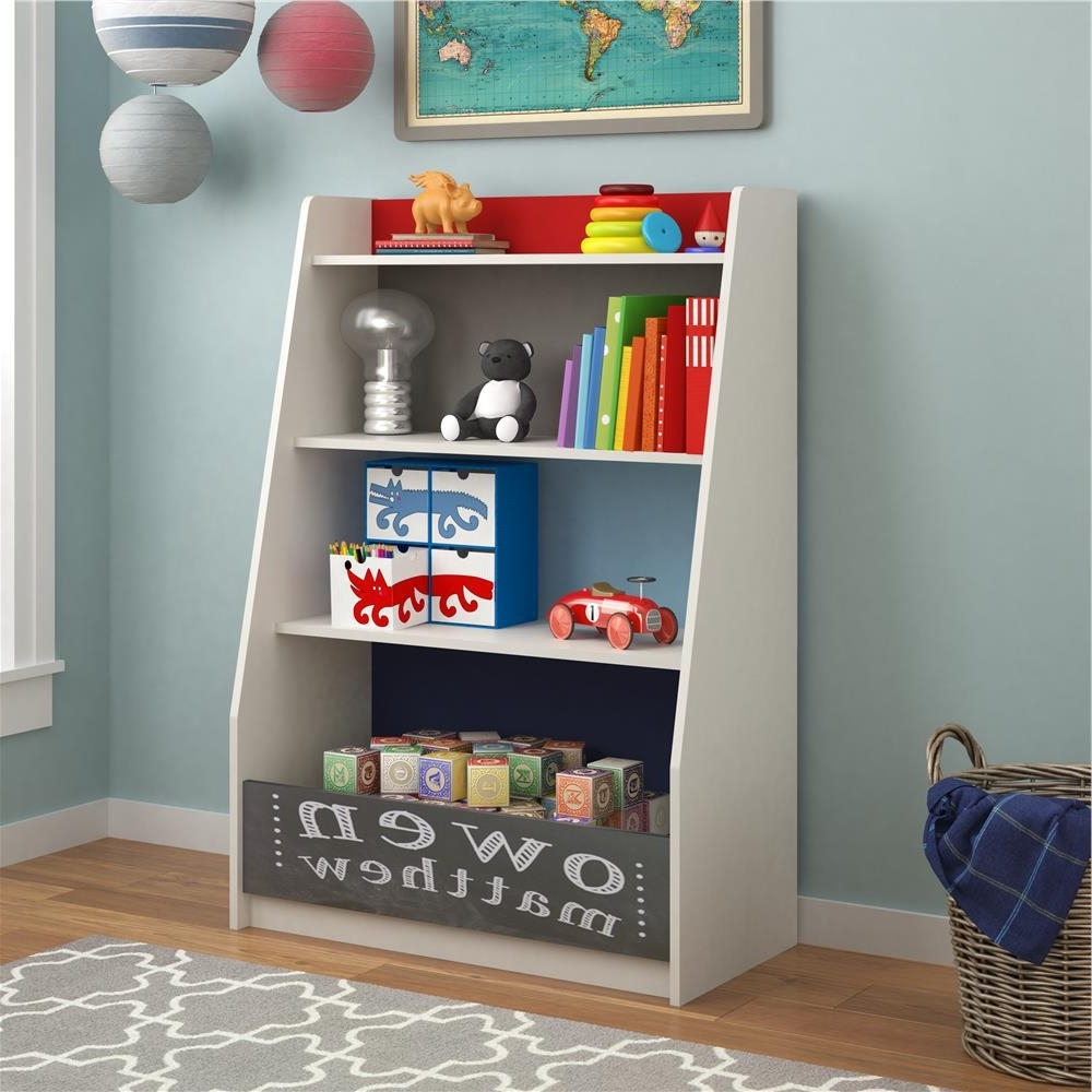 Favorite Blue Bookcases In Kids Bookcases – Kids Bedroom Furniture – The Home Depot (View 13 of 15)