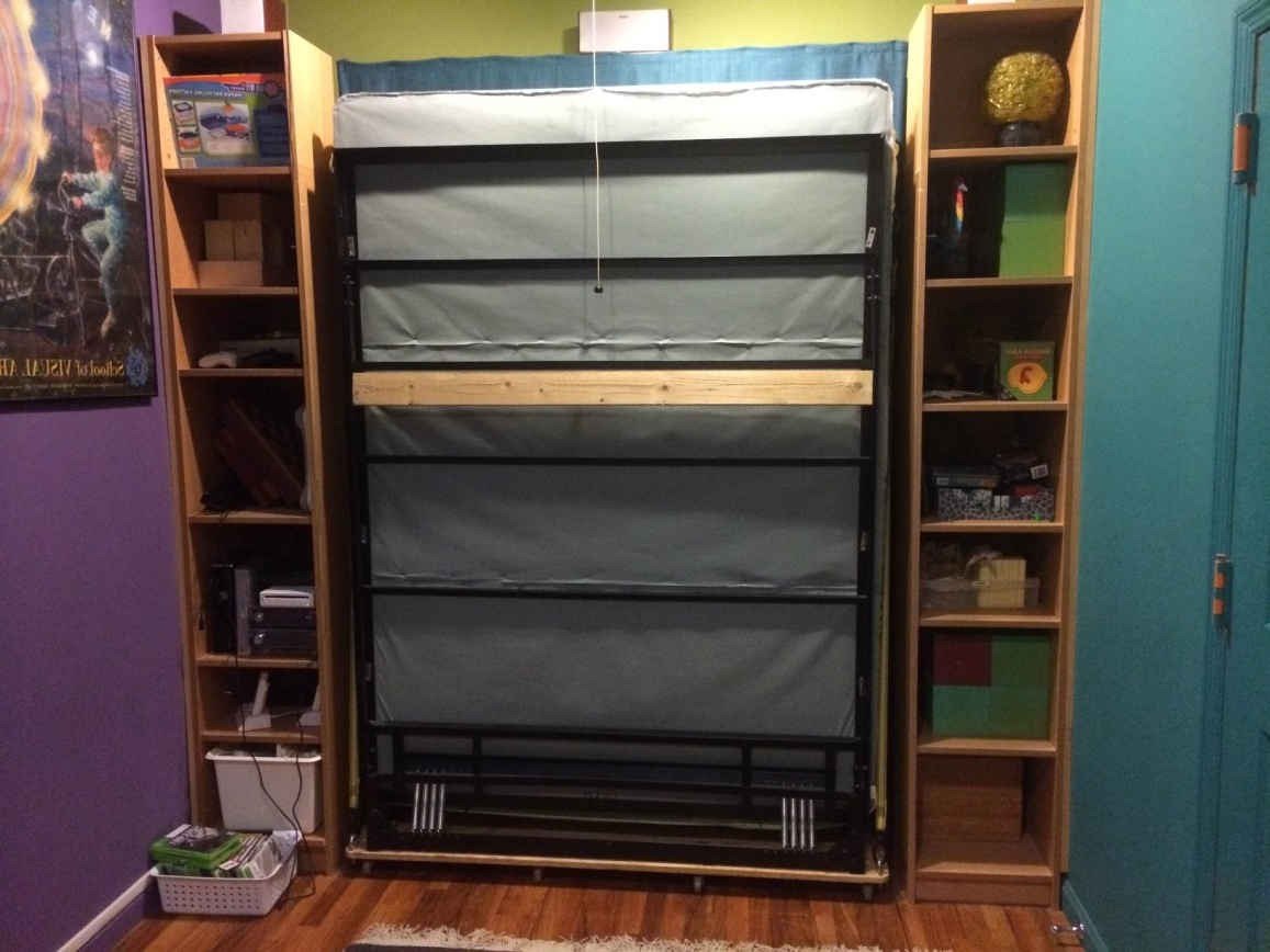 Favorite Bookcase Murphy Bed Design (View 1 of 15)
