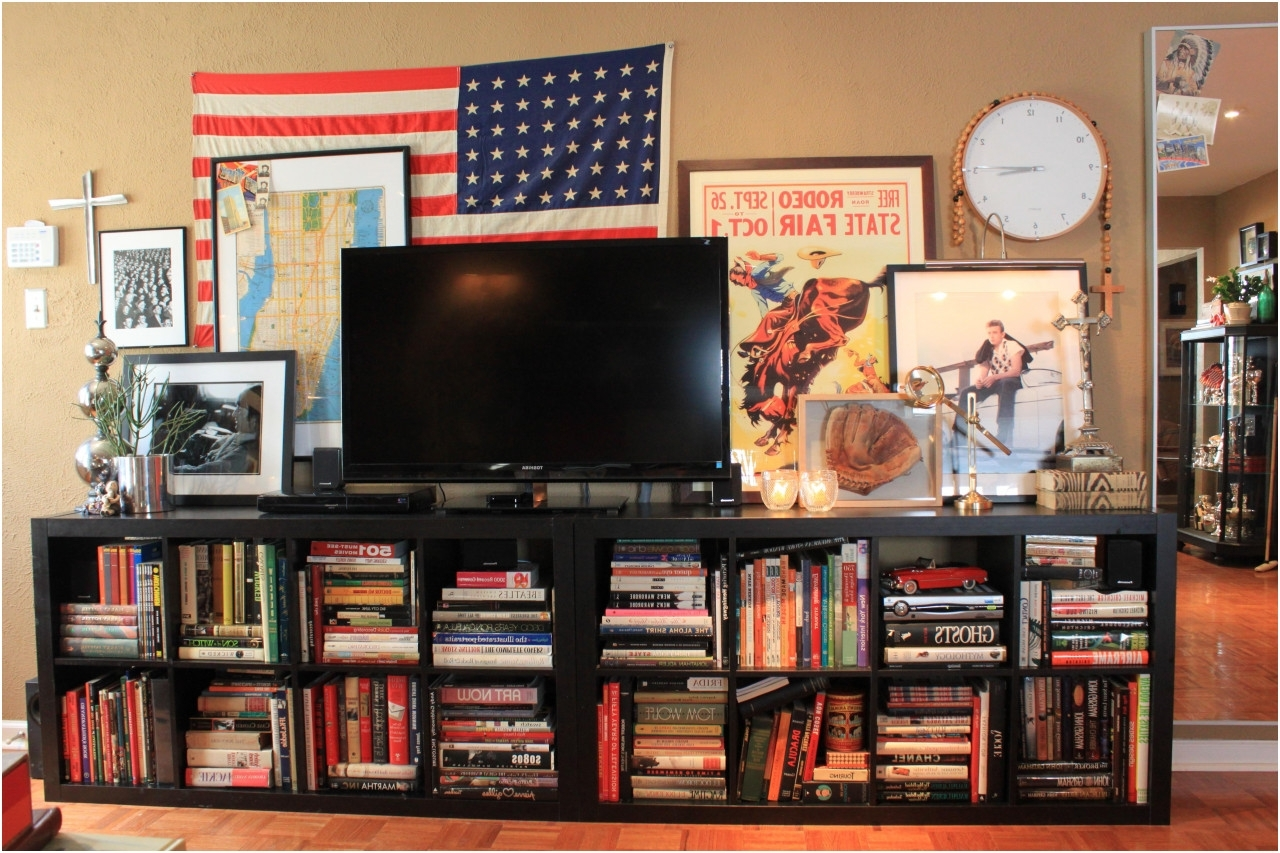 Favorite Bookcases Tv Stand With Bedroom : Awesome Tv Stand Bookcase Combo Imposing Marvelous Ikea (View 5 of 15)