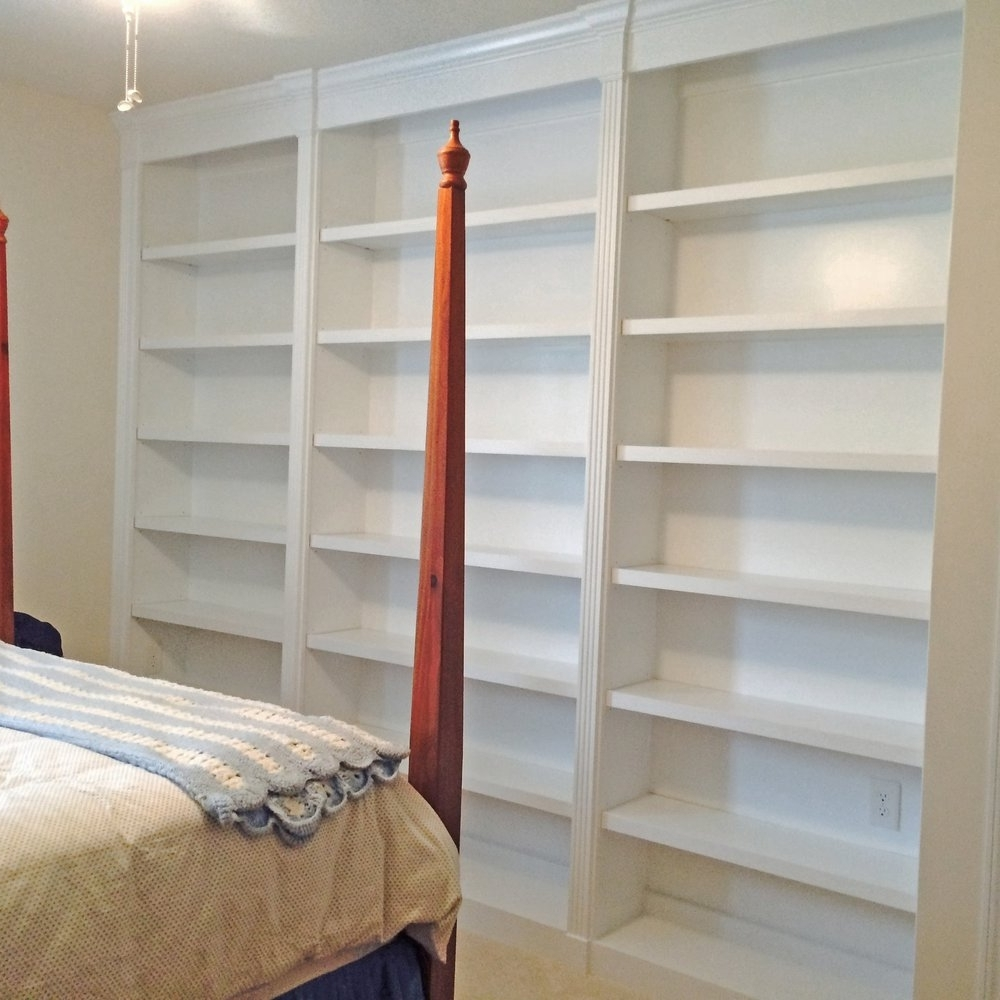 Favorite Custom Bookcases Regarding Custom Bookcases – Built In Bookcases – Raleigh, Wake Forest (View 10 of 15)