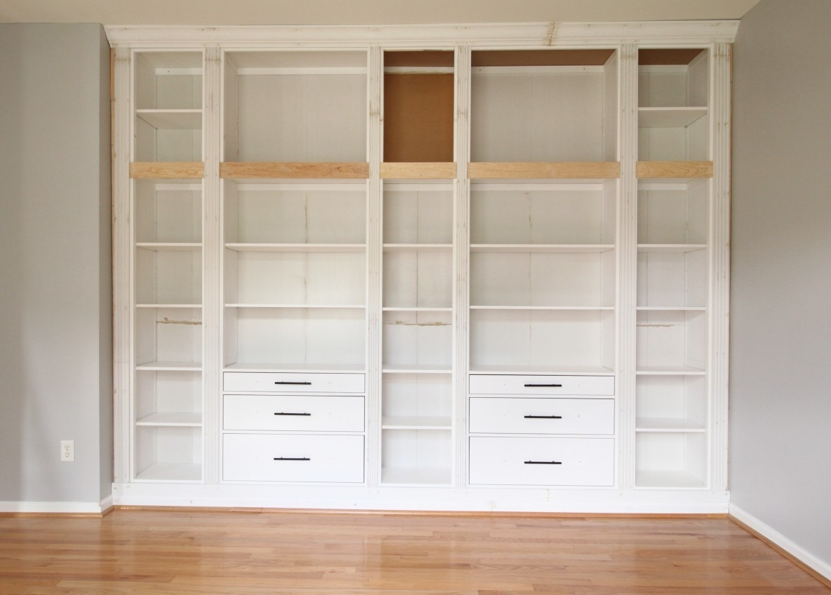 Favorite Diy Built In Bookcases Regarding Diy Built In Bookcase Reveal (an Ikea Hack) – Studio 36 Interiors (View 6 of 15)