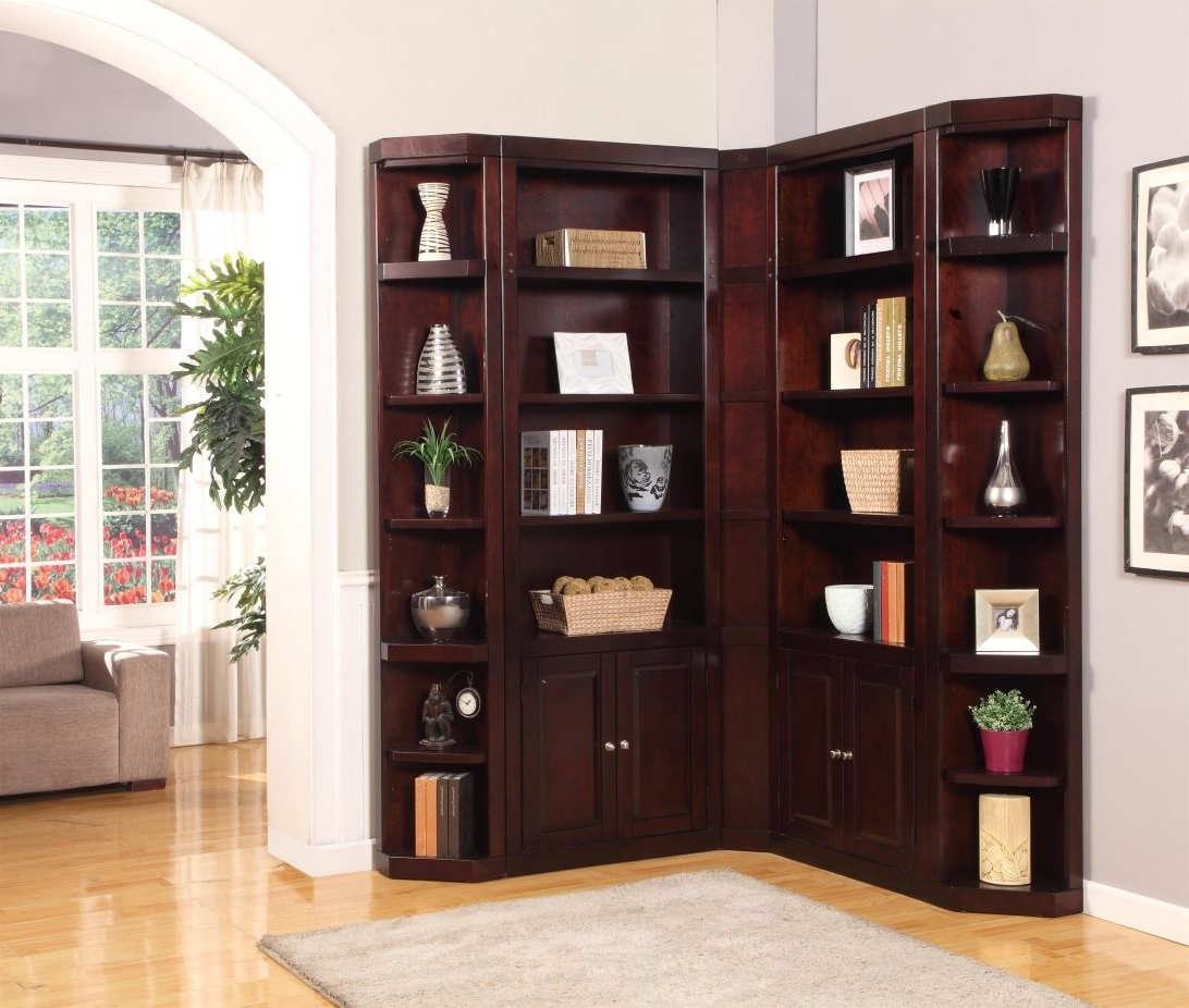 Favorite Fascinating Corner Unite Photo Conceptwildon Home White With Pertaining To Wildon Home Bookcases (View 3 of 15)