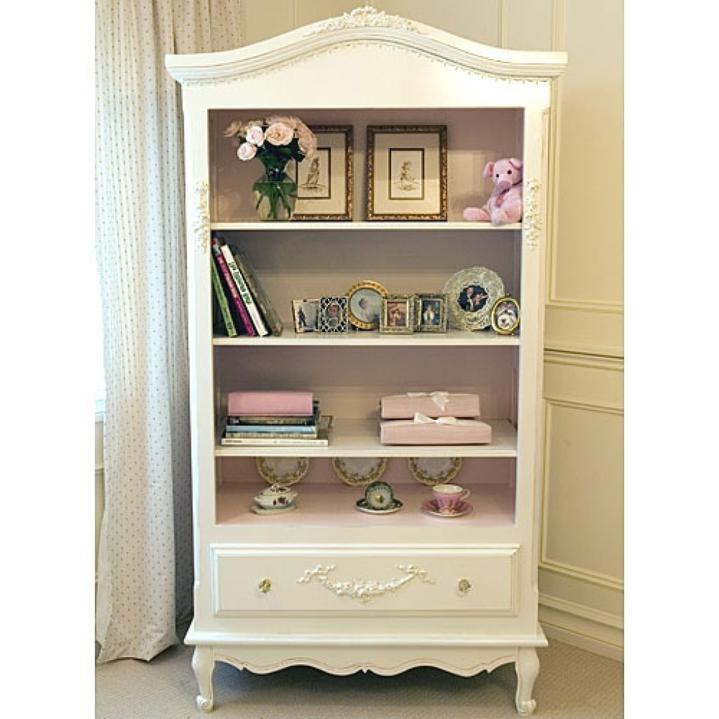 Favorite French Bookcases, French Country Style Bookcase French Country Throughout Girls Bookcases (View 2 of 15)