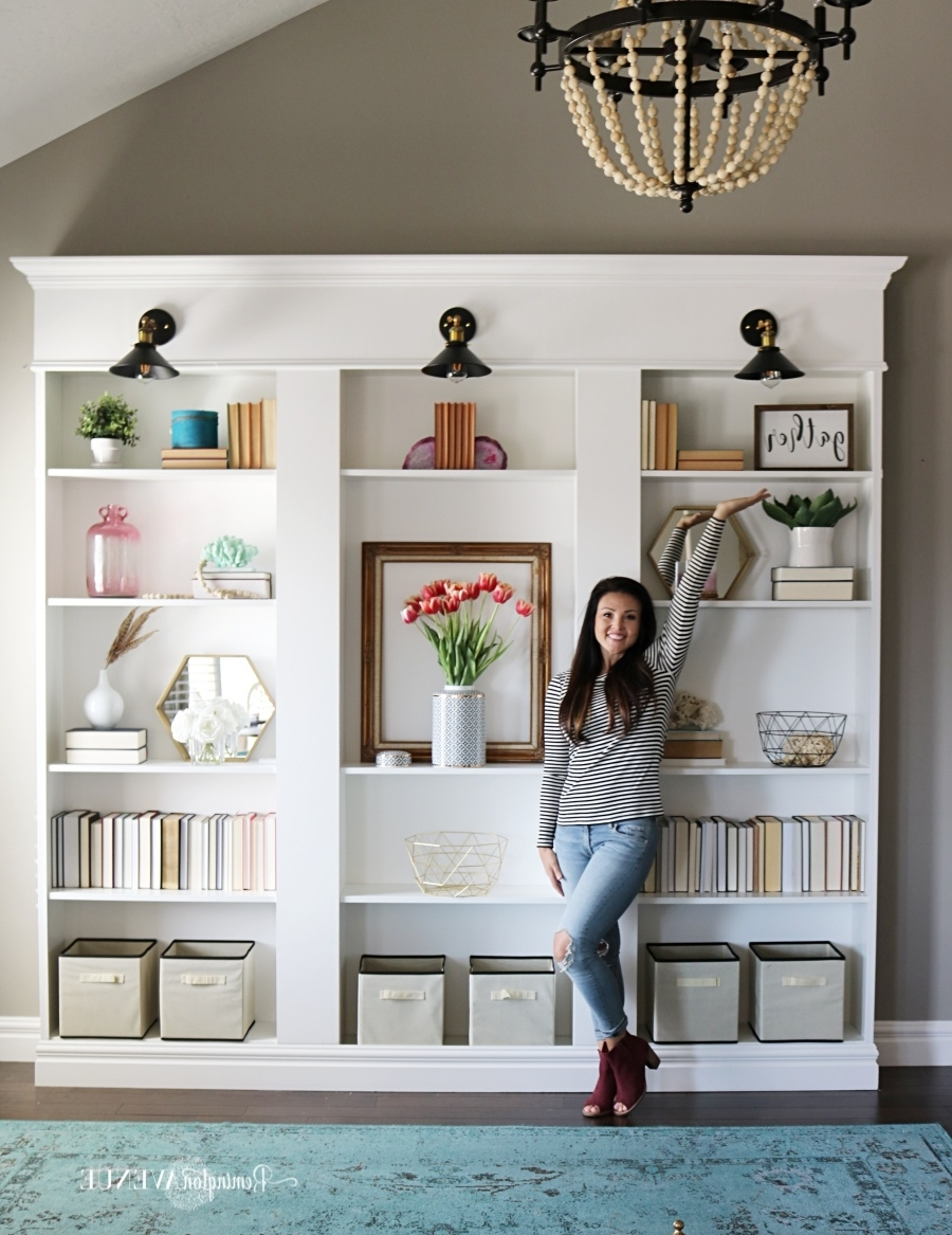 Favorite Ikea Billy Bookcase Library Hack – Remington Avenue In Billy Bookcases (View 8 of 15)