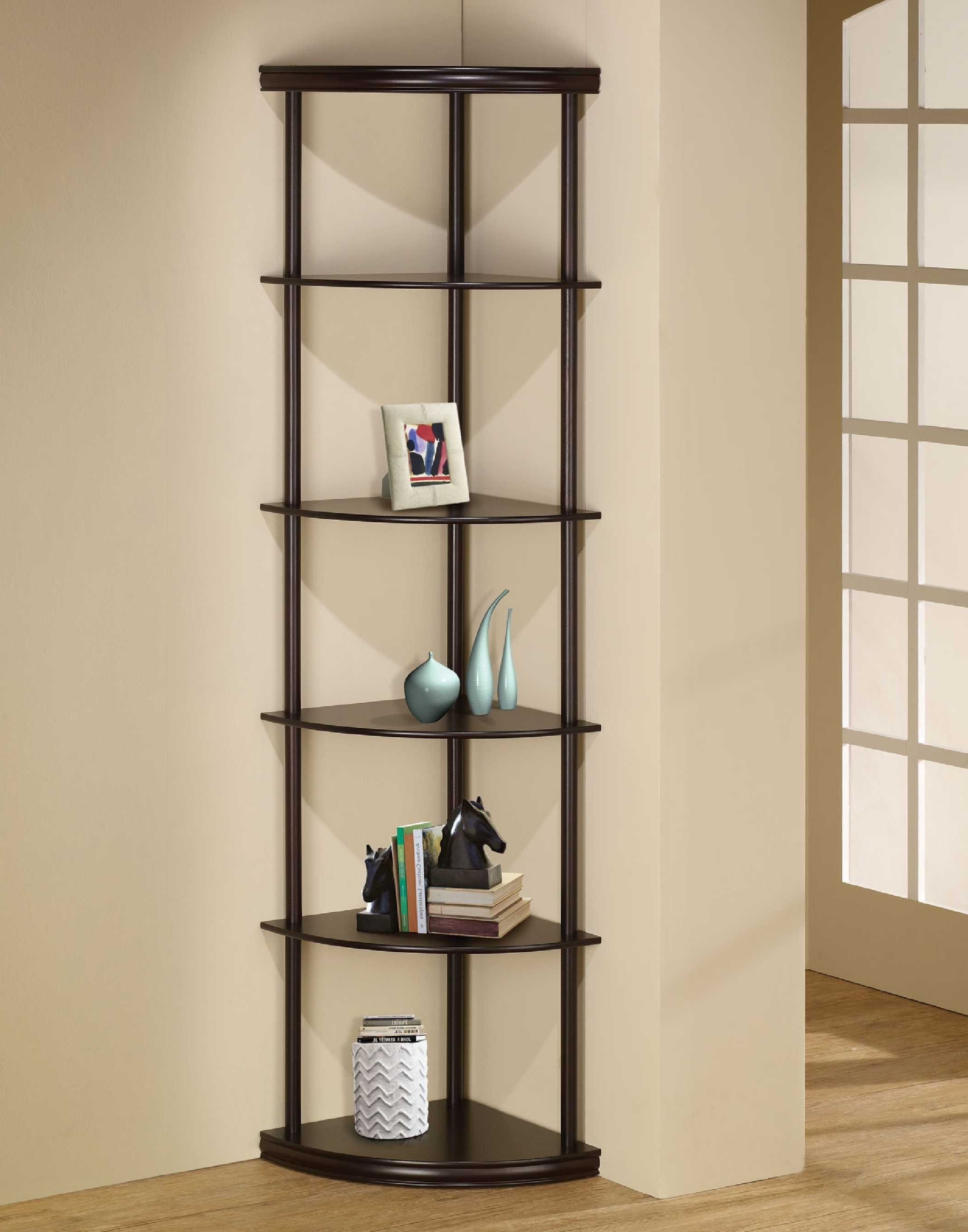 Favorite Ikea Corner Bookcases In Furniture Home: Small Corner Bookcase Bookcases Baking Magnificent (View 3 of 15)
