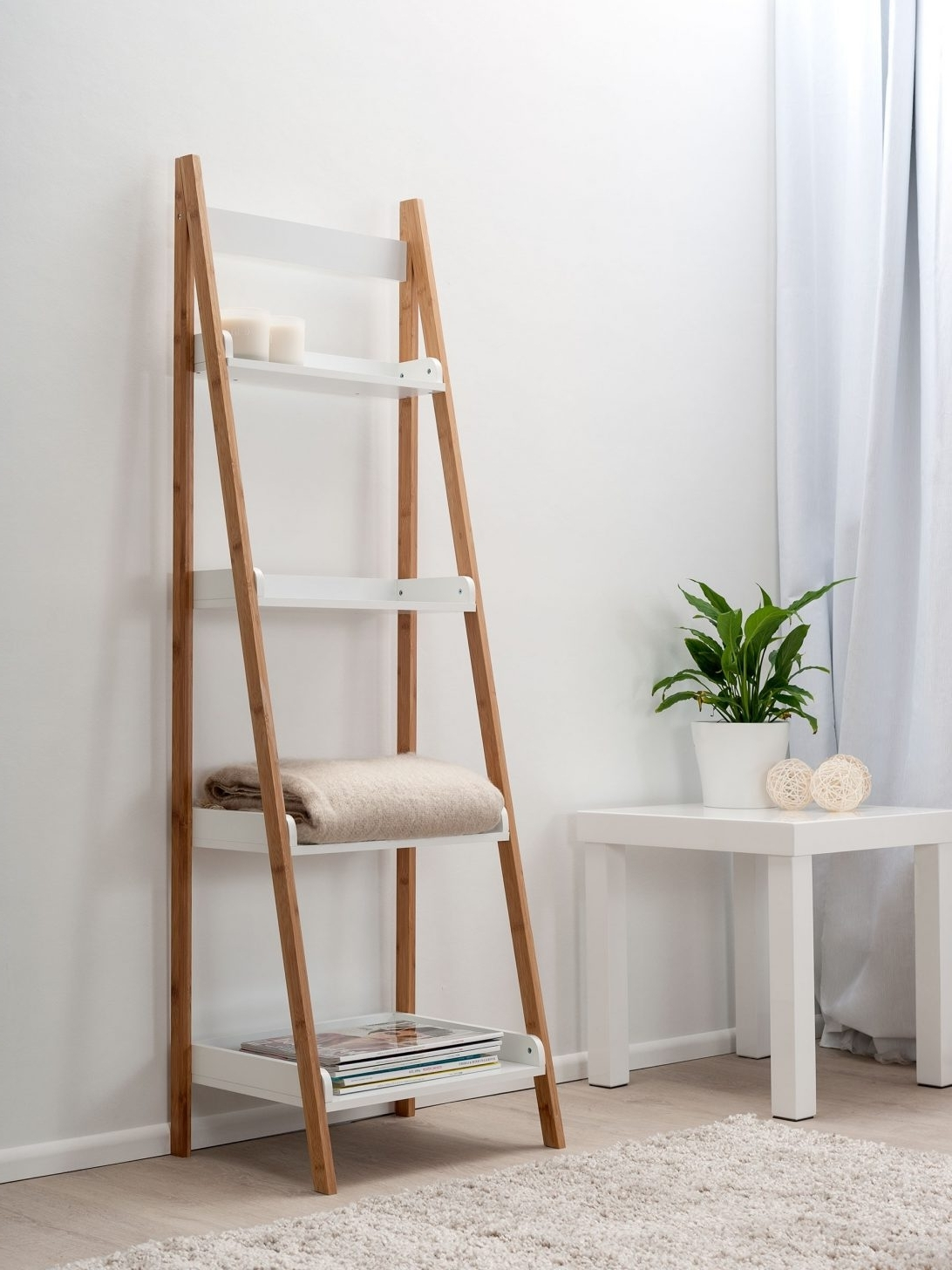 Favorite Ladder Ikea Bookcases Throughout Ladder Bookcase Drawers Amazon Shelf Plans Cappuccinoladder (View 7 of 15)