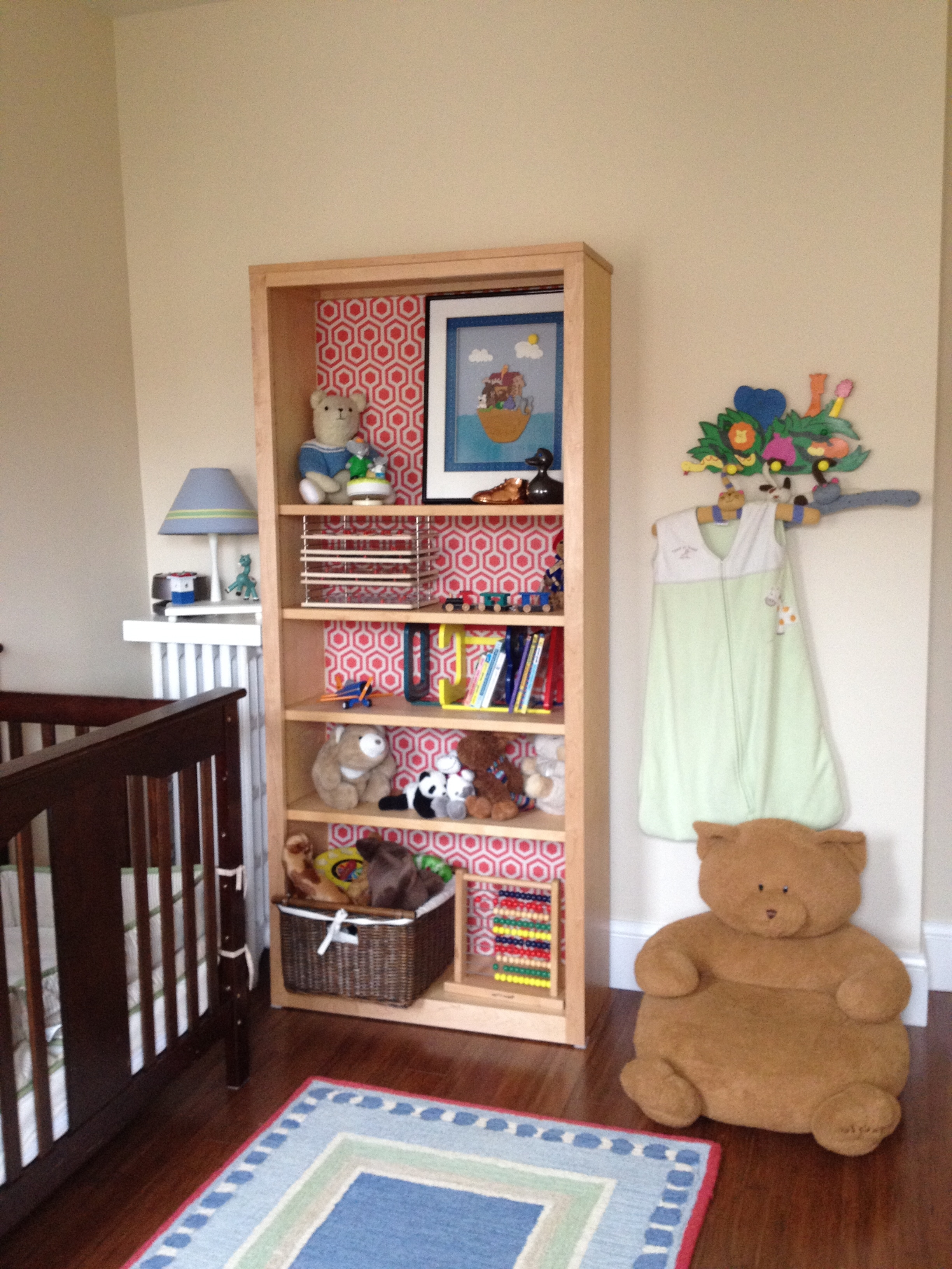 Favorite Lining Bookshelves: Decorating Inside The Box (View 7 of 15)