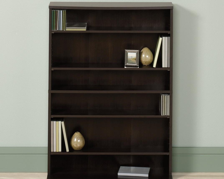Favorite Menards Bookcases In Shelf : Shelf Bookcase Wonderful Sauder 4 Shelf Bookcase 5 Shelf (View 15 of 15)