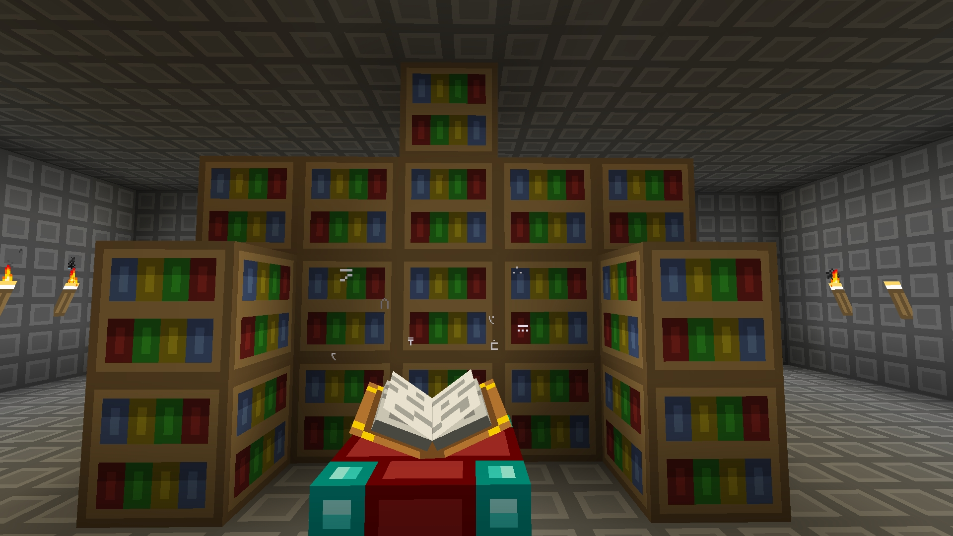 Favorite Minecraft Bookcases Within Minecraft – Is There A Height Limit On Bookshelves Enhancing An (View 4 of 15)
