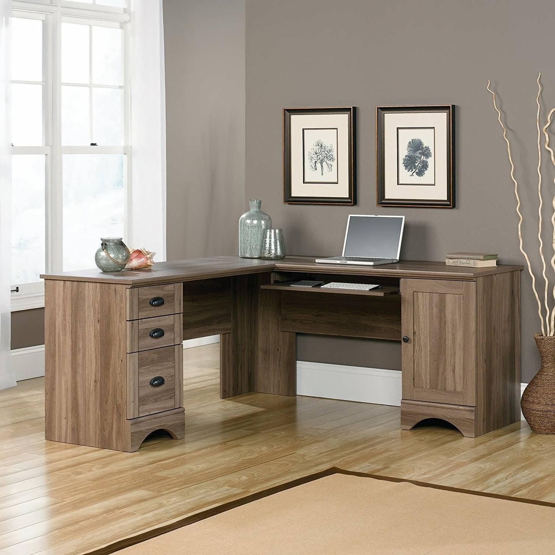 Favorite Office Desk : Black Computer Desk Home Study Furniture Modern Regarding Home Study Furniture (View 12 of 15)