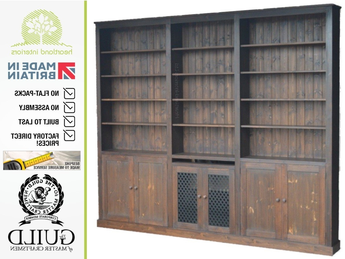 Favorite Radiator Cabinet Bookcases Regarding Contemporary 240Cm X 284Cm Bookcase Shelving Unit With Central (View 14 of 15)