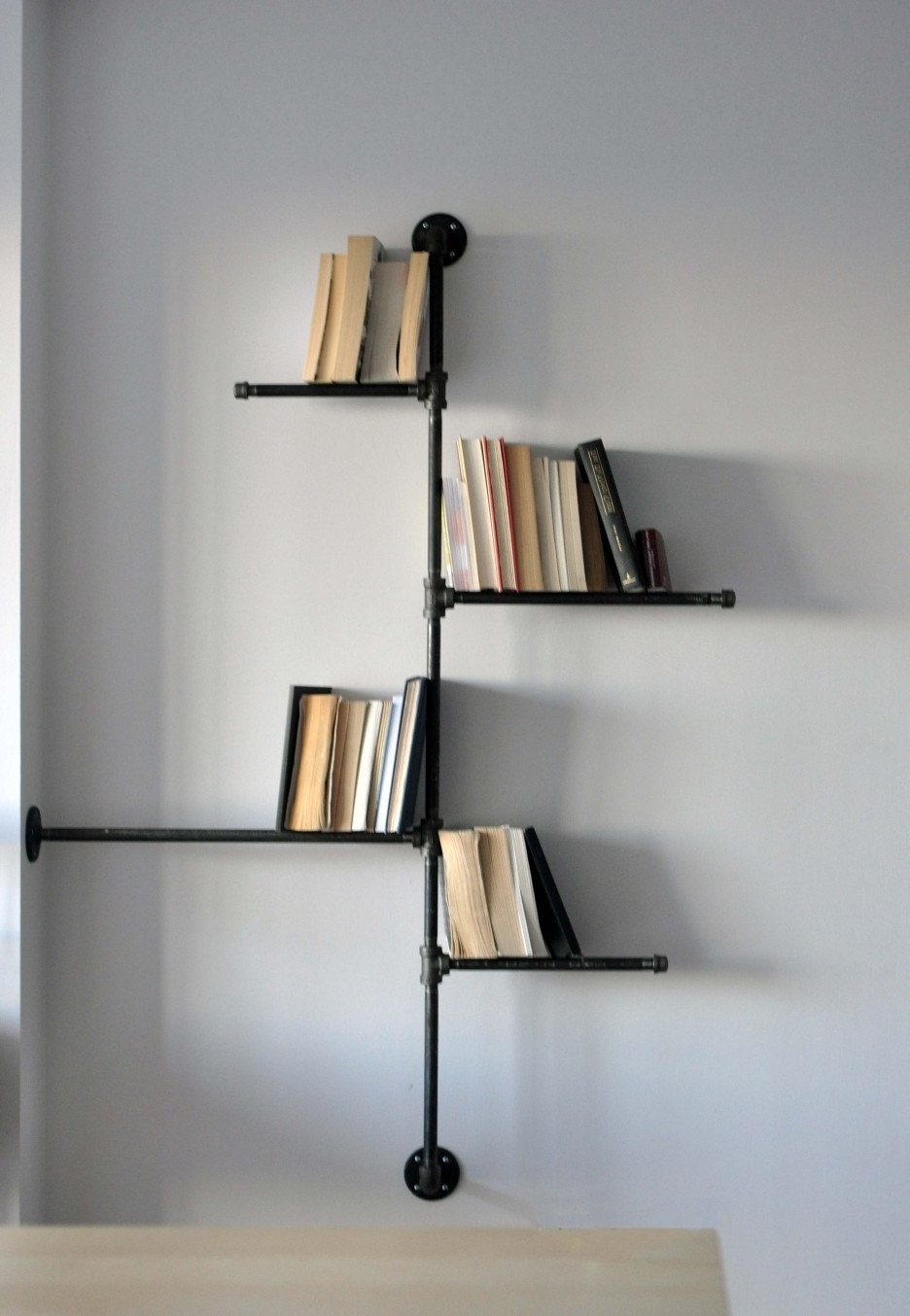 Favorite Remarkable Industrial Ikea Creative Bookshelves Design Introducing Regarding Hanging Bookcases (View 4 of 15)